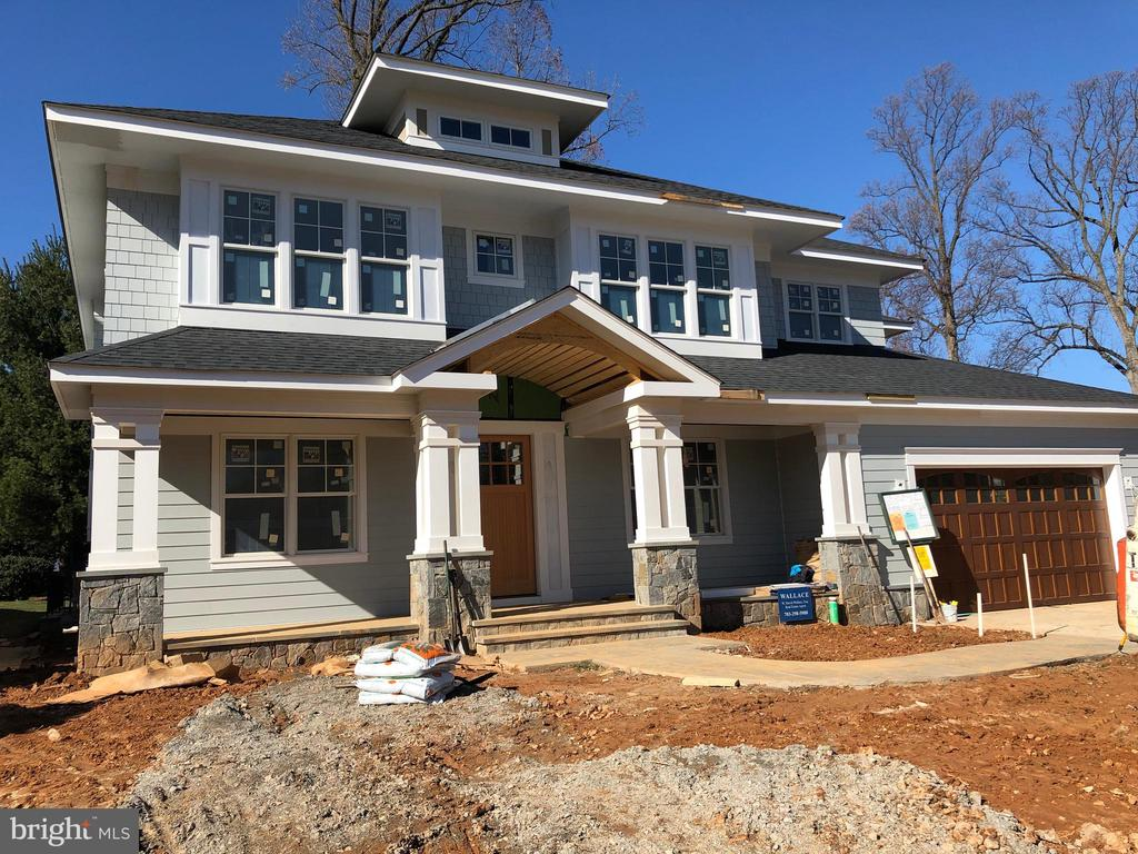 A stunning custom home is being built in one of Bethesda's most sought-after neighborhoods, Pineview.  The 12,000 SF lot is one of the largest in the neighborhood and perfectly flat.  More than ample room for a pool!  The 7300 SF home will feature an open floor plan with 10-foot ceilings and an abundance of natural light.  The highlight of the main level is a gourmet kitchen with Wolf and SubZero appliances and an adjacent catering kitchen.  The main level also features an in-law suite with separate entrance, a screened porch with fireplace, and multiple patios.  The home will be filled with custom millwork and quality details that will make the home stand out from the crowd.  Walking distance to Whitman, Pyle, Landon and downtown Bethesda.  The construction pictures and floor plans show the actual property and home design, whereas the other pictures show the high-end features of a similar home.  Open House is scheduled for April 26, 2020.