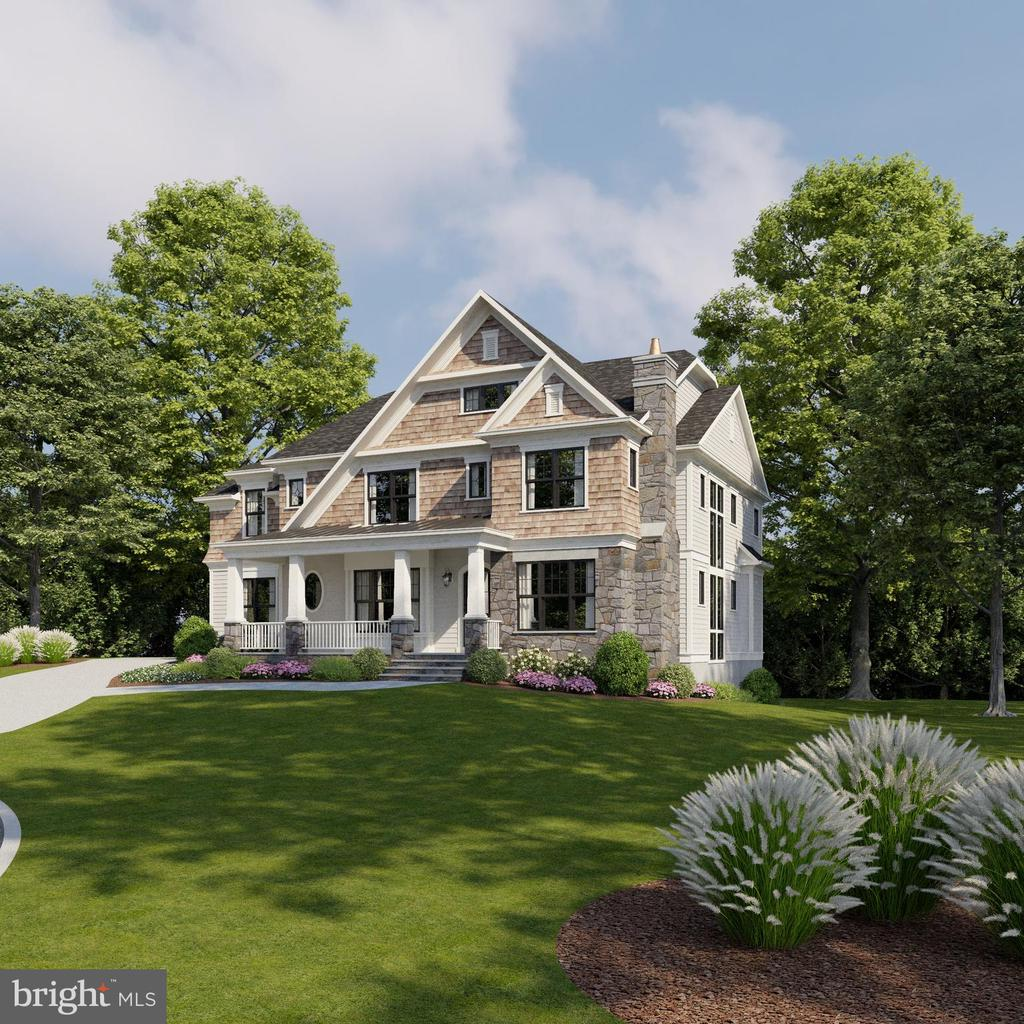 Seize the opportunity to CUSTOMIZE this 6,400+ sq ft 6 Bedroom, 6.5 Bathroom home which sits on a 17,000+ sq ft lot in a cul-de-sac. This home features all the bells and whistles! The gourmet kitchen opens to the Great Room with coffered ceiling. Main level en suite Guest Room includes 2 walk in closets. Separate Office with a fireplace. Luxurious master suite, with oversized his-and-hers walk in closets,  includes spa-like master bath with dual vanities and soaking tub. 2nd floor lounge area. Walk-out level, light-filled basement features extra-large Rec Room, Exercise room, wet bar, and en suite bedroom. Abundant storage throughout.  Screened porch  directly off kitchen features a gas fireplace. Separate generously-sized deck with stairs to the backyard make this home perfect for entertaining. 3 car garage.  Conveniently located near McLean, GW Parkway, and parks. CHESTERBROOK ES, LONGFELLOW MS, MCLEAN HS.