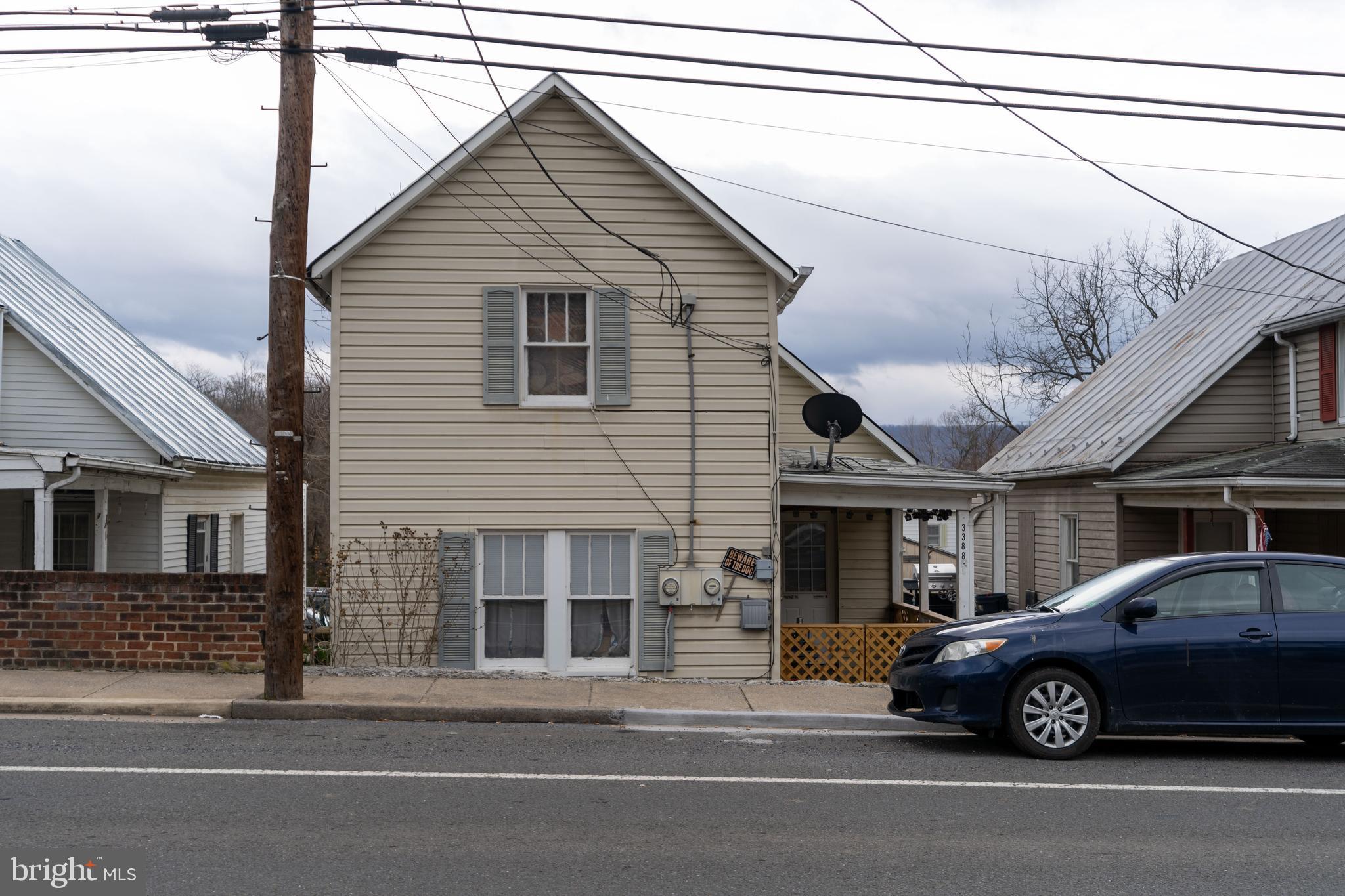 3388 N MAIN STREET, TOMS BROOK, VA 22660