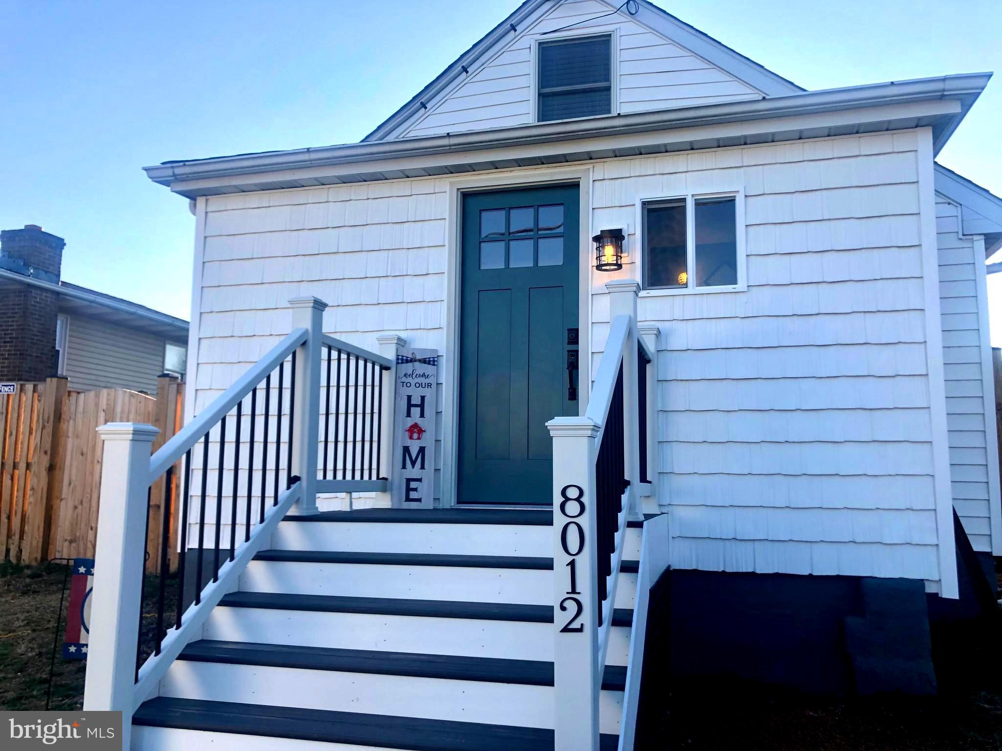 8012 W END DRIVE, ORCHARD BEACH, MD 21226