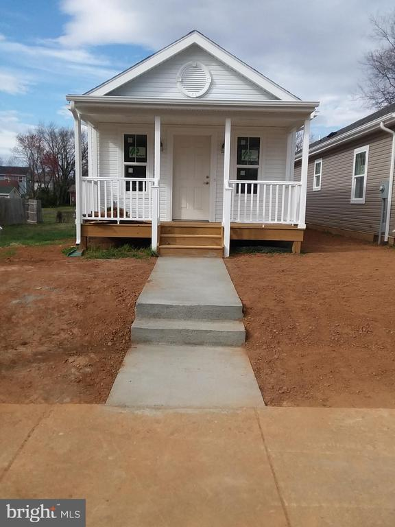 Fantastic find! Curb appeal, value, location. Pay less in mortgage than you're paying in rent! One-level living. Walk to VRE. On city bus route. Dixon Park Pool within walking distance. Public park across the street. Less than 5 miles to I-95. Shopping/Restaurants nearby and walk to Old Town Fredericksburg. Under construction and nearing completion. This won't be on the market long. This property qualifies under the Fredericksburg Home Ownership Assistance Program for down payment assistance to Buyer of up to 50% of down payment.