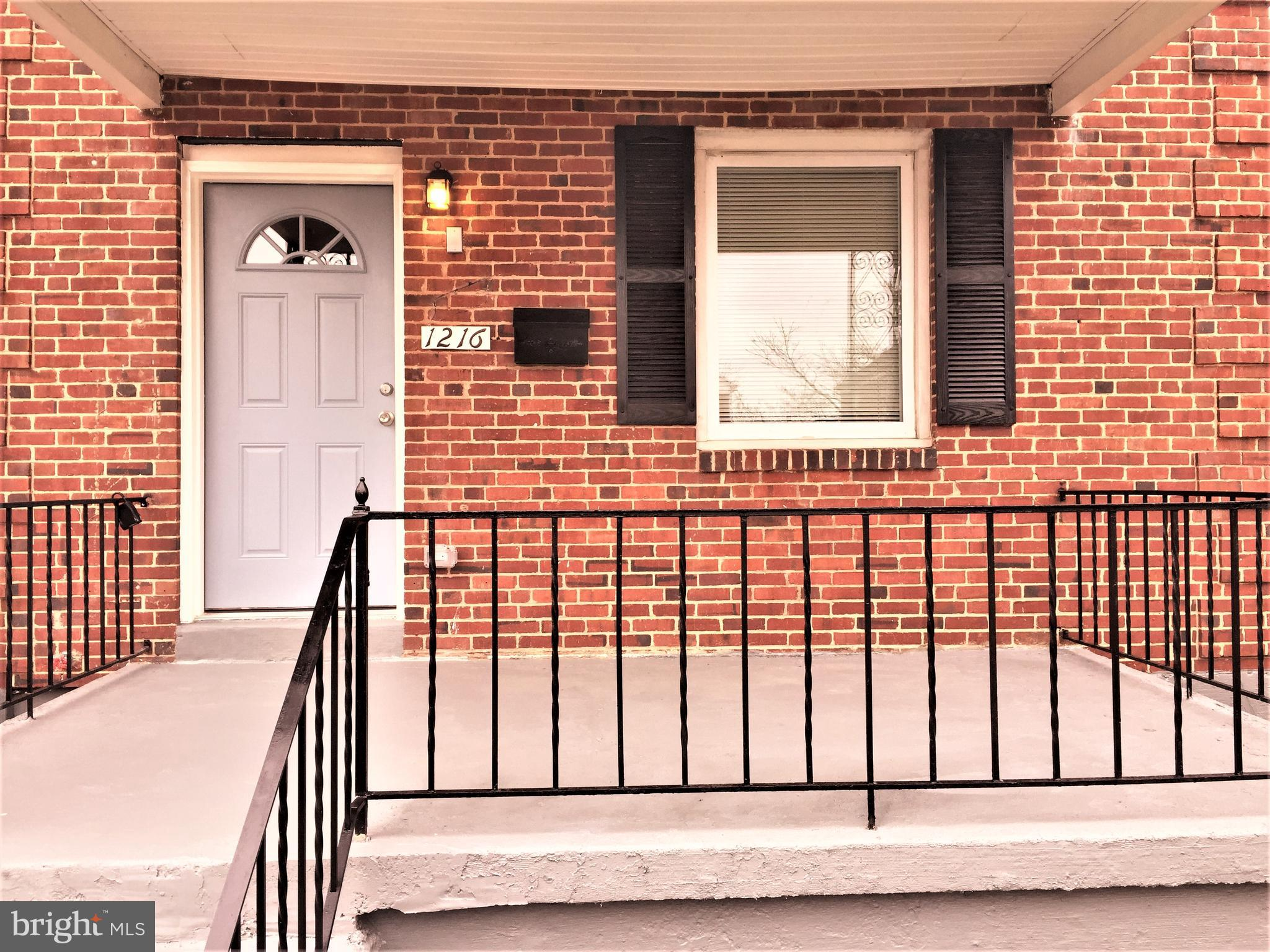 1216 GLENHAVEN ROAD, BALTIMORE, MD 21239