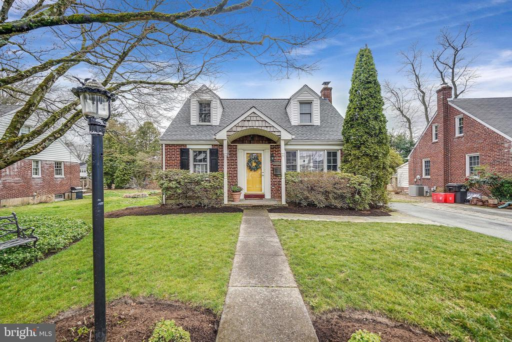 """Welcome to 122 Richmond Rd, a charming three bedroom, two full bath brick Cape Cod home set in a quiet neighborhood in Paoli. This wonderful home has loads of curb appeal and has been lovingly cared for and updated by the owners.  There is a Brand New Roof, Brand New Hot Water Heater,  Brand New Furnace, New kitchen (2018) and 2 full updated bathrooms - no need to worry about replacing any of the """"big stuff"""" after moving in!!!Highlights of this home include a fully renovated kitchen with white cabinets, quartz countertops and plenty of storage.  A bright and cheery sun room with vaulted ceiling and skylights that close automatically when it rains! A first floor bedroom and full bathroom.  A second floor Master Bedroom with European style dressing area complete with its own sink and custom shelving.  Second floor laundry and additional hook up for laundry in basement if desired.  Custom closet systems have been thoughtfully designed and installed throughout.   The lower level has a living area with gas fireplace, a craft or hobby area and two storage areas with shelving.  There is also a Bilco door for outside access to the back yard.  The open back yard area features a deck and storage shed for all your outdoor activities. The landscaping has been thoughtfully designed with perennial gardens that bloom all season long with very little care required! A prime location in a great neighborhood close to everywhere you want to be and so much more all combine to make 122 Richmond Rd a very special place to call home! Just minutes to Valley Forge National Park, corporate centers, King of Prussia and Main Line shopping and dining. All this plus the top ranked Great Valley School District. This is it...welcome home."""