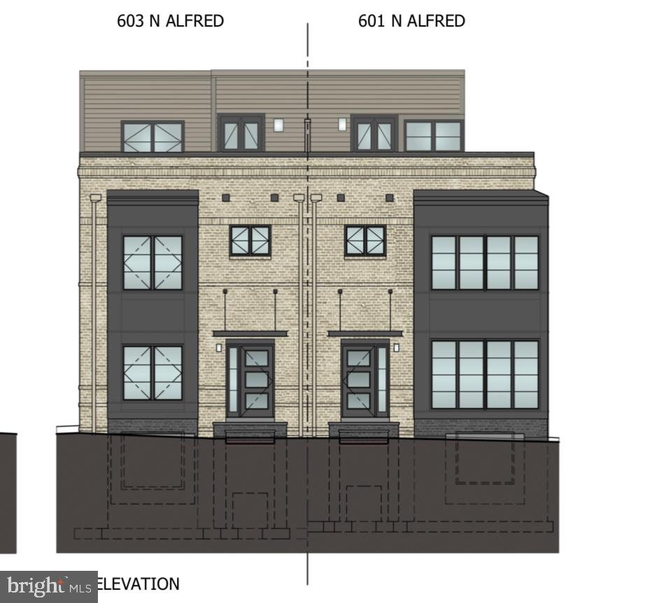 603 N ALFRED STREET, one of homes for sale in Alexandria