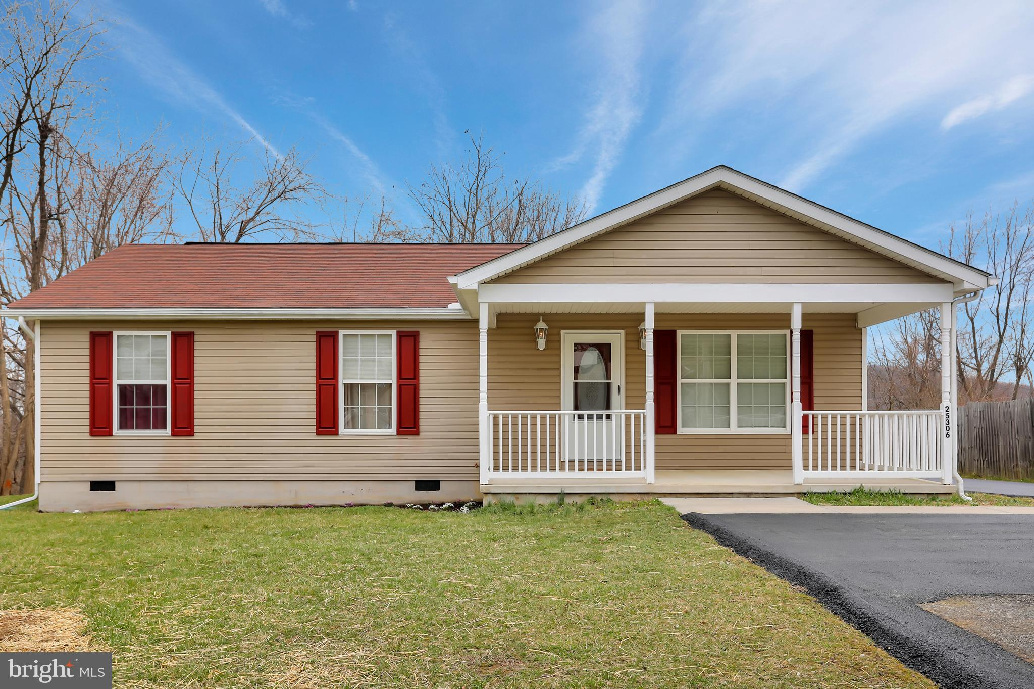 25306 MILITARY ROAD, CASCADE, MD 21719