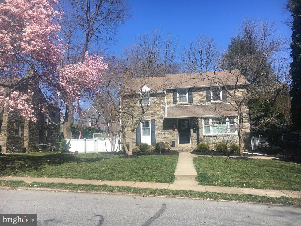 Hard to find and IRRESISTIBLE!!  A 4BR/2.1 BA 1940~s quality Stone Colonial, totally renovated, with a large, fenced, level BACKYARD in a vital and convenient Wynnewood neighborhood!!  2016 was a big year for this home:  The Kitchen of your dreams: white Shaker-style cabinetry;white Subway tile backsplash; black-leathered granite countertops; S/S high-end GE, Bosch & LG appliances; hardwood floors! The removal of the DR wall essentially doubled the size and functionality while every area was utilized to provide extra counter and storage space with a large Breakfast Bar overlooking the Mud Room area and sliders to the Garage and YARD beyond! Upstairs, are 2 NEW Bathrooms~vintage 2016~ Master with Marble vanity & black & white tile floor~wall moved to enlarge, new Double closet in MBR.  Hall Bath with Double vanity~again wall adjusted to accommodate enlarged Bathroom!  3 family bedrooms in addition to Master.  Basement has recessed lighting installed and a PR, BRAND NEW Heater, Laundry area, simple play & exercised area.  New Pella windows throughout! The 1-car garage is attached, stone patio for warm weather enjoyment as fenced YARD is safely available for children or pets! Walking distance to several parks and Norristown High Speed Line for easy access to city! Professional and additional photos to follow.