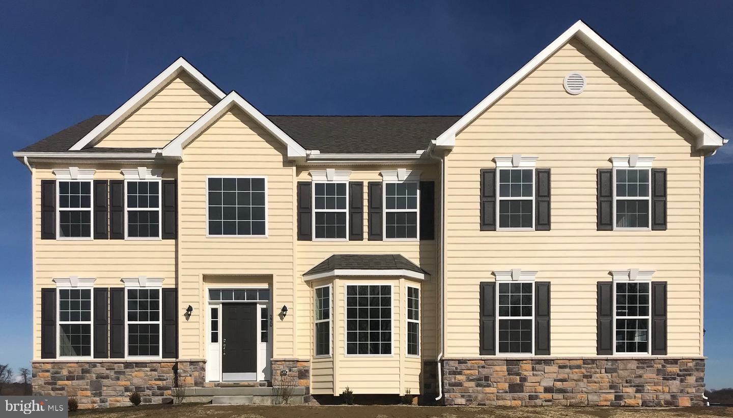 QUICK DELIVERY ALERT! This is one of the last opportunities to buy NEW CONSTRUCTION in Odessa National.  3700 sq. ft. on the first and second floors! Big and Beautiful - The Brandywine is one of the Builder's best selling models. This home is loaded with options - partial stone exterior, rough-in for a future bath in the basement, and a gas fireplace. 2 rough-ins for ceiling fans. Flooring upgrades include - hardwood floors in the foyer, powder room, rear hall in the family room, and the deluxe kitchen. Tile floors in the Owner's bath.  Crown molding in the living and dining rooms chair molding in the dining room. The kitchen is a show stopper! Upgraded Linen cabinets, granite countertops, recessed lights, kitchen cabinet and drawer hardware, pendant light rough-ins over the island, stainless steel appliances including the double wall ovens and the GAS cooktop. The two-story family room has a gas fireplace and a wall of windows.  On the second floor, the open railing option was added in lieu of the 1/2 wall. The massive owner's suite has a sitting area, tray ceiling, and two LARGE walk-in closets. Guaranteed to please - wait until you see the owner's bath! This is the alternative owner's bathroom layout with a walk-in shower, double vanities, upgraded tile. The pictures shown are of another Brandywine.  Pictures will be updated as construction proceeds. This quick delivery home can be ready in 4 months or less.