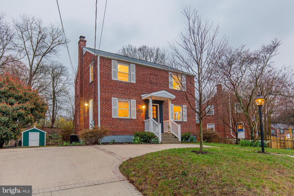 ****VIRTUAL OPEN HOUSE WEBINAR  Sunday, March 29th @ 1:00pm ****   Register now at: https://www.donnakerrgroup.com/virtualopens **** Property is only available for showing on an agent tour.   Open house is virtual only!   ****  This charming colonial in Silver Spring's South Four Corners is sure to impress! As you enter, a center hall layout offers a family room lined with built-in bookshelves and outfitted with hardwood flooring. The dedicated dining room offers sophisticated dining options with elegant details. Nearby, the updated kitchen showcases stone countertops, plentiful cabinetry with glass inserts and patio entry. Three upper-level bedrooms share a full bath. Finished lower recreational space has the bonus of additional storage options. The finishing touches on this home extend outdoors with an expansive deck and lush green space and an oversized driveway with parking for three vehicles. Located less than a mile from Forest Glen Metro and a short drive to I-495 you won~t want to miss this conveniently located home!***Awesome Features***Stately brick colonial with private three-car driveway***Spacious family room with hardwood floors and built-ins***Updated kitchen with stone countertops and backyard access***Dedicated dining room***Fresh paint palette throughout***Three upper-level bedrooms with a full bath***Finished lower level with additional recreational space and storage***Picturesque backyard with deck and two storage sheds***Less than a mile from Forest Glen Metro***Short walk to gorgeous Sligo Creek Park***MUST SEE!!!