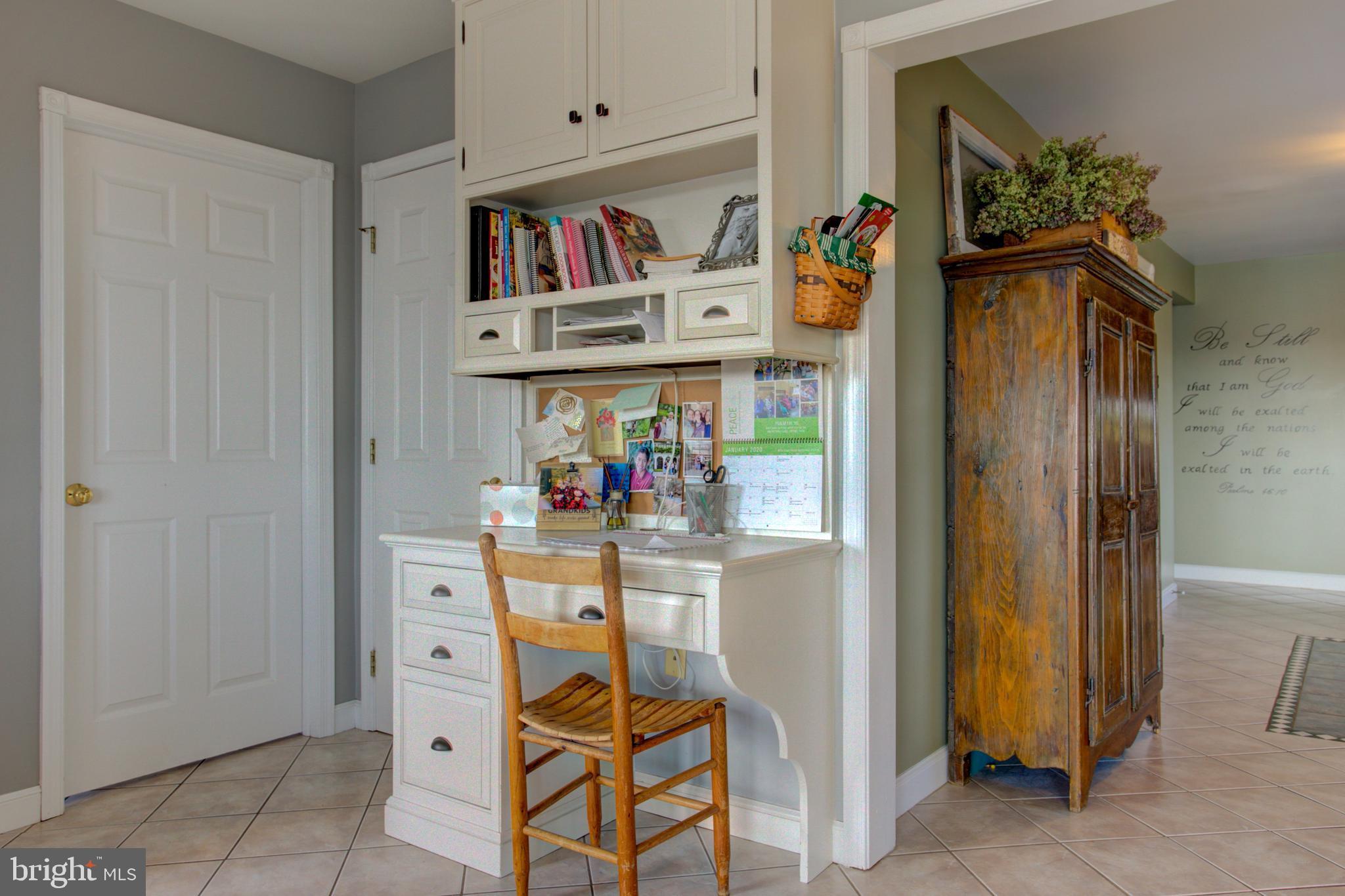 Kitchen-Dining Room-Desk Area