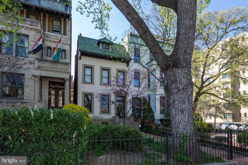 This property is currently used as an office and has been set up that way for over 20+ years. The building is located in a prime spot in Dupont Circle and can be used for a private home, office, embassy, or multifamily. Additional FAR. Zoning: MU-15