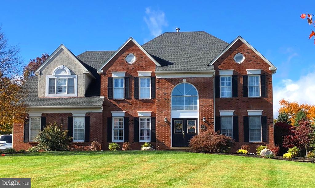 Magnificent Tiffanie model nestled on 1 1/3 acres premier lot in prestigious Estates at Faraway Farm! Conveniently located minutes from 422,113, 29, Ridge Pike, Germantown Pike, & Egypt Rd. Easy access to King of Prussia Mall, Providence Town Center, Philadelphia Premium Outlets, charming Skippack Village, Rivercrest Golf Club, Valley Forge Park, & Upper Providence Township Recreation Center at Anderson Farm Park. The brick facade with double French doors leads to your lavish two story grand entrance hall with an elegant center staircase.  It is flanked on each side by the expansive Formal Living and Formal Dining Rooms. Brazilian cherry hardwood floors, custom trim, & elaborate wainscoting throughout. The awe-inspiring , 2-story great room boasts a stunning wall of picture windows, sophisticated two-story ceiling, dramatic gas fireplace, custom built in shelves, recessed lighting, and breathtaking views of your private backyard oasis, complete with a gunnite pool, hot tub, pergola, and lush landscaping.   The extravagant kitchen features mesmerizing granite countertops & island, handcrafted 42 inch cabinets, 18 by 18 ceramic tile flooring...the list is endless! The sun-drenched breakfast room has a fabulous morning room addition leads to the patterned concrete deck overlooking your very own secluded paradise perfect for entertaining! This home features a second staircase that leads from the dining areas to the bedrooms upstairs. The palatial owners suite boasts vaulted ceiling with recessed lighting, expanded vaulted sitting room, and expanded walk-in California closets with built-ins. The luxurious master bath has dramatic vaulted ceilings, soaking tub, spacious master shower, dual vanity, and ceramic tile floor.  The additional lovely bedrooms feature custom built-ins, plush carpeting, hand-painted walls.  The generously sized Princess suite has its own attached bathroom. The hall bath is shared by the other two bedrooms.  Additionally the first floor has a study