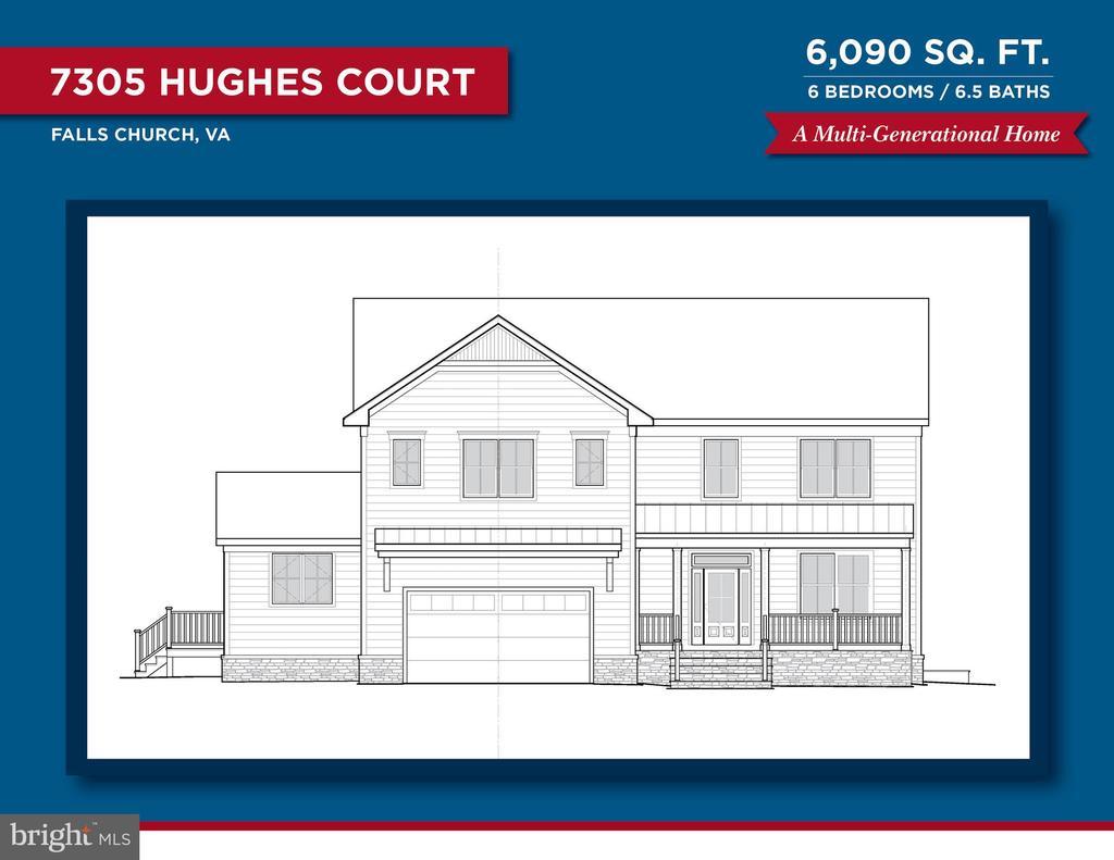 7305 Hughes Ct, Falls Church, VA 22046