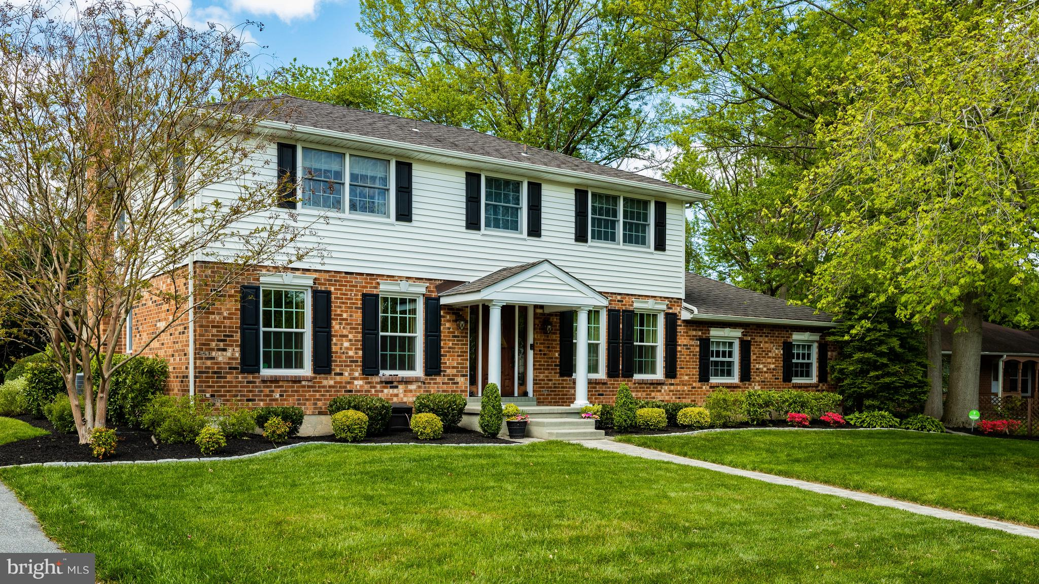 Traditional character melds with modern amenities in this beautifully appointed 4 bedroom, 2.1 bath colonial located in the sought after community of Talleybrook.  The home owners have made numerous improvements to this property including windows, air conditioning,custom millwork, door hardware, landscaping, stamped concrete patio complete with spa hot tub and new driveway.  Inside the color palette is neutral, solid oak hardwood flooring gleams, the gas fireplace is inviting, and recessed lighting provides a warm ambience.  The vaulted ceiling in the bonus room/sunroom has skylights and gorgeous windows that create a bright and spacious vibe.  With an open concept living room/family room/sunroom addition this is the perfect home for entertaining.  The kitchen is a chef's dream with Thermadore gas range, Miele vent  hood and Bosch dishwasher and don't forget the under-cabinet lighting!  Relax outside this Spring & Summer in your private backyard oasis complete with Trex deck, patio and luxurious hot tub.  When you're ready to retire you'll find 4 generously sized bedrooms complete with California closet systems.  The master bedroom offers his and hers closets and a lovely appointed private master bath.  The hall bath and main level powder room have been completely updated.  Main level laundry is also a wonderful feature of this home.  Looking for extra storage; there is a large unfinished basement and partially floored attic.  Schedule your appointment today!