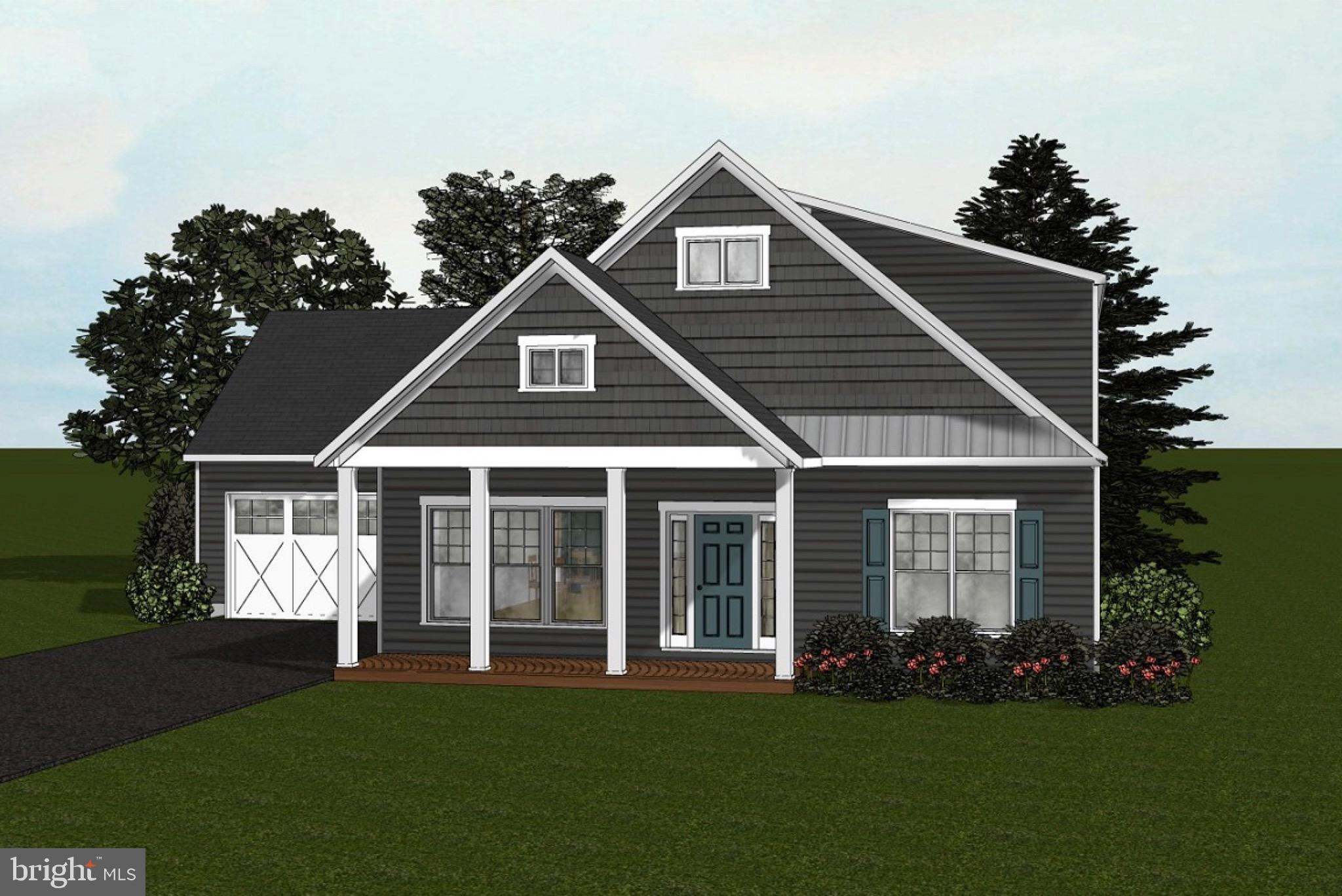 Quality to-be-built home  with a basement in water privileged community!    Walk to the community beach and amenities.   Whitehall Building  can make your dream of owning a brand new home an educational and exciting process.    This builder includes some really nice finishes in the base price - wood floors,  bathroom tile, granite countertops, wide baseboard trim and Hardie siding just to name a few.     You can also customize your preferences to make it your own!    Main level includes 3 bedrooms .    FREE finished rec room and full bathroom for  basement level with contract by 7/4/2020.   Optional finished upper level with 4th and 5th bedrooms plus a full bath.   Use one of the builder's lenders for the construction-permanent loan and the title company and receive $10,000 credit toward your finishes/options.  There is a small cottage on the property that will be removed to build the new house.  Photos are representative of previous homes built by this builder. The Voluntary HOA offers boat slips, boat ramp, playground, pavilion, picnic area, beach and pier.   Close to shopping and great commuting location.     Go to the whitehallbuilding site for more info
