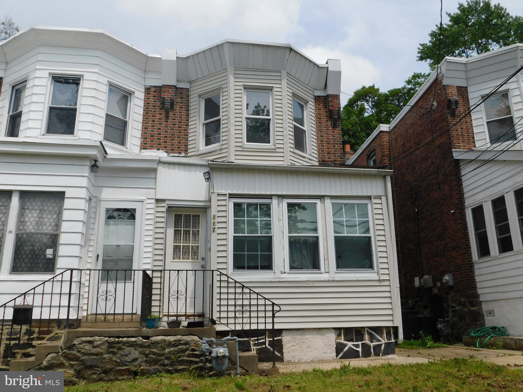 Investor Alert!Three bedroom twin in Collingdale.  Property being sold as is, buyer is responsible for ordering and paying for conditional U & O from Township.  Buyer is responsible to clean out house.  Cash only