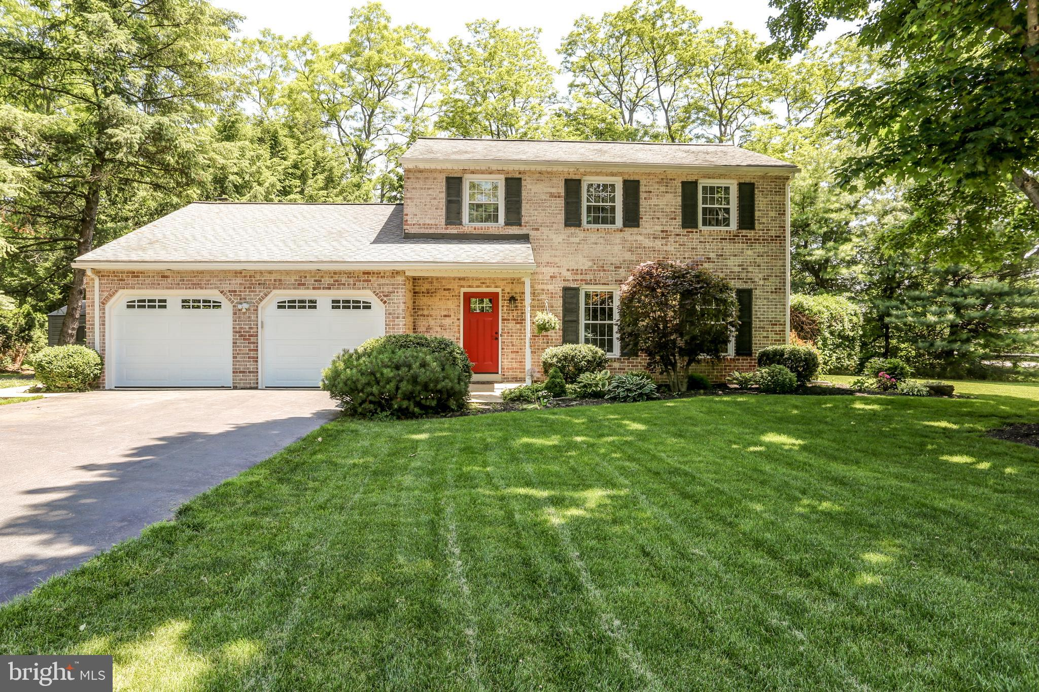 Looking for a sweet home that is in a park-like setting on almost 1/2 acre?  This is the one!  Pride of ownership is noted from the moment you pull up to the house.   Beautiful landscaping surrounds you.  Clean, neat and ready for the new owner!  Gleaming hardwood, tile, and marble, oh my! Summers will be enjoyed on your private stamped concrete back patio and winters will be enjoyed in front of your cozy fireplace in the family room.  Enjoy your meals in the eat-in kitchen highlighted with granite and tile back splash or in the formal dining room accented with chair rail and crown molding.  The Owner's Suite offers a huge walk-in closet and updated bath with solar tube to allow for natural light..  Check out the built-in shelves in Bedroom 3.  The finished lower level gives extra living space and the crawl space adds additional extra storage space.  You'll also find great storage space in the attic.  All appliances are included.  Make this your next Home Sweet Home!