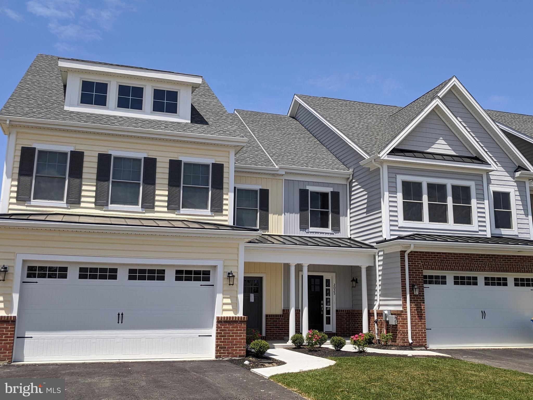 "QUICK DELIVERY FALL 2020! Overlooking the lovely Branch Canal right on the waterside, this brand new custom carriage-style townhome is a unique opportunity in New Castle County.  Located in The Canal District at Fort DuPont, The Newbold is truly a magnificent home. This floor plan features  an open concept on the main floor with 3  bedrooms upstairs and a total 2.5 baths. This home also has a 2-car garage. The impressive kitchen is well appointed with granite counter tops, 42"" custom cabinets with trim and soft close hardware and a massive island perfect for entertaining.  The owner's bedroom has serene views and spacious walk-in closet.  Reserve this month to take advantage of the amazing SUMMER INCENTIVE!  The homes are close to downtown and community boat access for outdoor activities year round. With future shops, hotels, restaurants, movie theater and expanded marina, Fort DuPont is the new sought after Riverfront in Delaware and the lifestyle you have always craved.  With Wilmington, Newark, Dover, Christiana and the southern beaches a short drive away, you will love being close to everything yet nestled in a quiet setting. This home is currently under construction/to be built. Photos are for marketing purposes only. The Sales Center is open Monday 2-6pm, Tuesday & Friday 11am-6pm, Saturday & Sunday 12-5pm. Call 302-898-2010 to schedule an appointment.  GPS: 260 New Castle Avenue. Delaware City, DE 19706."