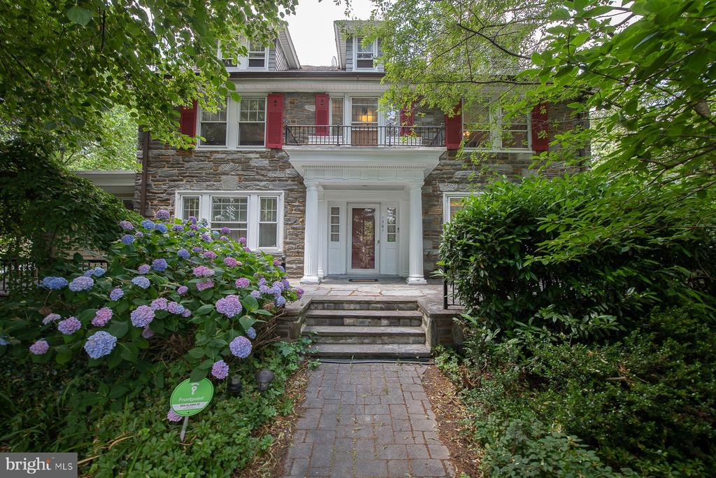 1361 Garden Rd. Wynnewood, PA.  in Lower Merion is a beautiful, warm and sunny single Stone colonial that has  old world charm with 6 bedrooms , 4 full baths, 2 powder rooms  and 2 car garage in a great location.  Enter a formal foyer, to the right is a large  bright formal Dining Room  which leads to the Kitchen, breakfast area, powder room , door to a nice patio and a two car garage.  To the left of the foyer is the Living room with fireplace and an extension which is being used as an office.  Second floor:  Huge master bedroom with master bath, 3 more large bedrooms and two extra full bathrooms.  Third floor:  Two large bedrooms with a full hallway bath.  Basement:  Semi finished basement with a large party room, laundry room, outside exit.  Two car garage.  Central Air. Hardwood floors throughout, Newer appliances, Newer windows, Newer garage door, Gutter helmet, slate roof inspected a few months ago and in good condition then, Furnace-steam boiler under warranty from Sears until 8/21/2020.  New electrical wiring throughout the house with warranty,  200 AMP.  Fenced in back patio.  Front patio.  Entire house freshly painted.   Located in the prestigious Lower Merion School District, walking distance to Penn Wynne Elementary,  walk to the newly renovated Penn Wynne library,  Kaiserman JCC,  shopping, transportation and parks.