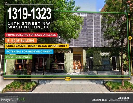Property for sale at 1319-1323 14th St Nw, Washington,  District of Columbia 20005