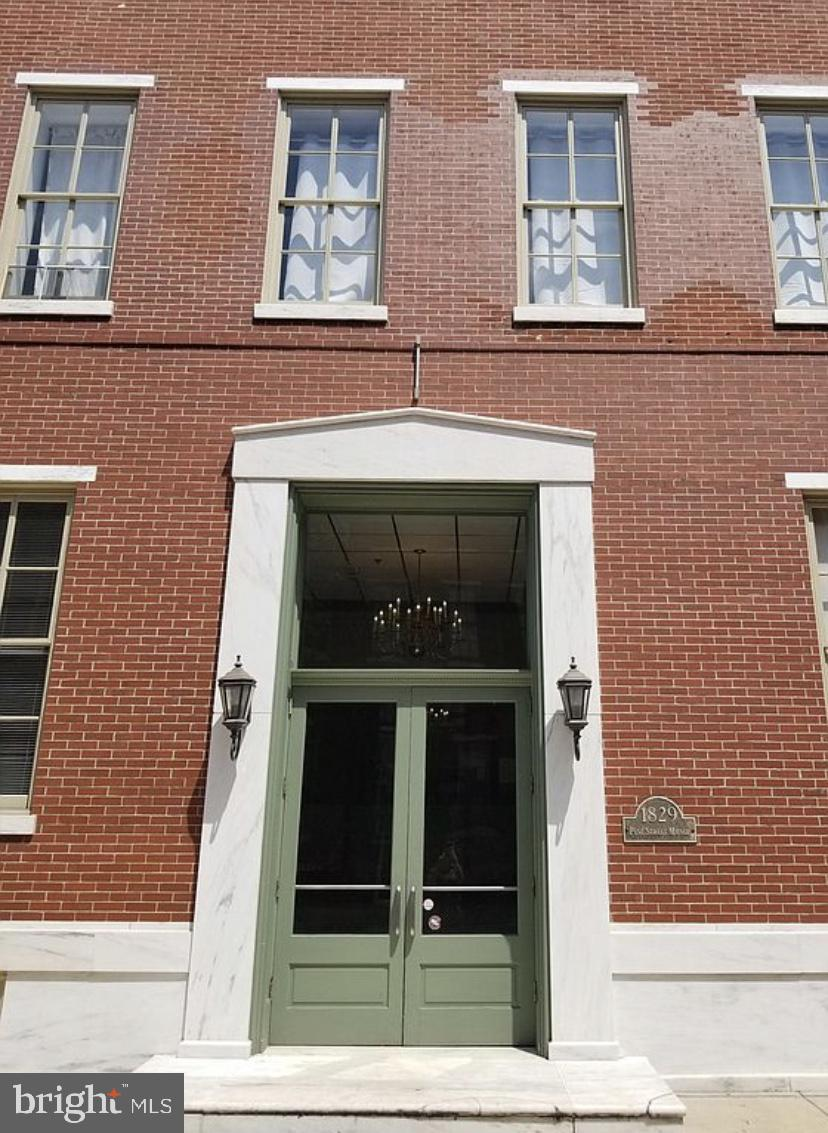 JUST OFF RITTENHOUSE SQUARE!!! This sun-splashed , GRACIOUS and SPACIOUS one bedroom, with den newly renovated apartment boasts, all open living and dining area, large tile bath, and very well proportioned bedroom, with  BIG CLOSET!!! PINE ST MANOR, is an elegant BOUTIQUE building, just minutes from University of Pennsylvania, Drexel University, and some of the CITY's BEST dining!!!