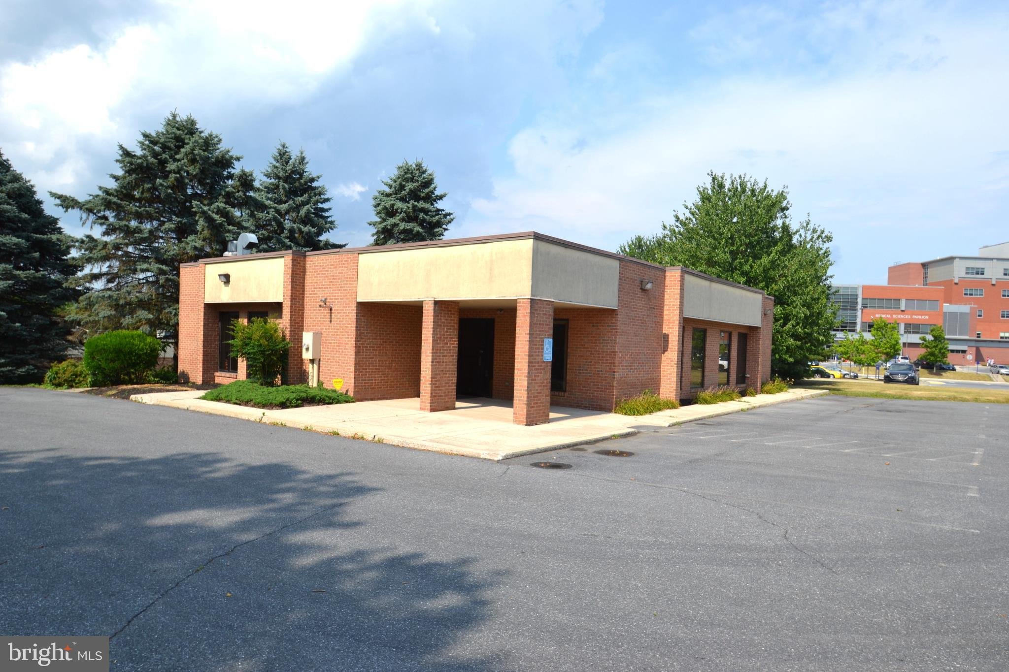 Location, Location, Location best describes this one-story building on a slap with approximately 2,316 square foot of finished space in popular Lower Paxton Township.  This highly desirable location on .74 acres is surrounded by many medical institutions and other commercial facilities with UPMC Pinnacle Community Osteopathic Hospital adjoining this property in rear. With a total of 7 offices, staff lounge, waiting room, 3 half bathrooms, mechanical room, 15 + parking spaces and possible room to grow this practical footprint offers many possibilities. The real estate ONLY is currently being offered for sale at an amazing price of only $595,000 but seller will also entertain possible lease for whole/partial building.  This building is currently being used by a Dental Laboratory which is not included in the sale, but would be possibly interested in leasing 2-3 offices.  Zoning for this property is IN.   Feel free to contact David Giovanniello with For Sale By Owner Plus, Realtors with any further questions or concerns.