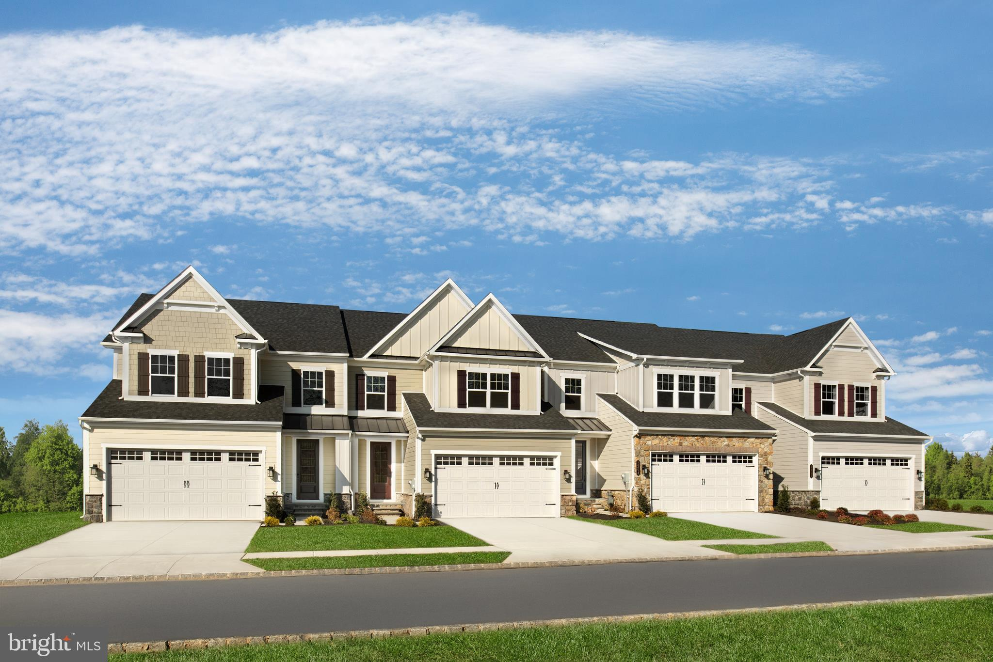 Luxury  townhomes in a spectacular estate setting near Rt. 100, 202, the 322 bypass, and West Chester Borough. You can have the best a single-family home has to offer with  large and inviting spaces, lots of light, plenty of closet space AND have the convenience and practicality of townhome living. NVHomes Northshire makes it easy. Enter to the first level and youll be greeted by the open and airy flex room, perfect for formal dining; or choose the study for work-from-home convenience. The kitchen is open to the great room and a casual dining space. A family arrival center and powder room is tucked away making clutter a thing of the past. Upstairs a loft makes a cozy private gathering space while still leaving plenty of room for large bedrooms, a hall bath and a full laundry room. The owners bedroom is a private retreat and boasts a spa-like owners bath and huge walk-in closet with mirror. To top it off, your included finished basement and full bath offers even more space and versatility for entertaining, fitness or relaxation. Youre going to love the Northshire at Greystone!