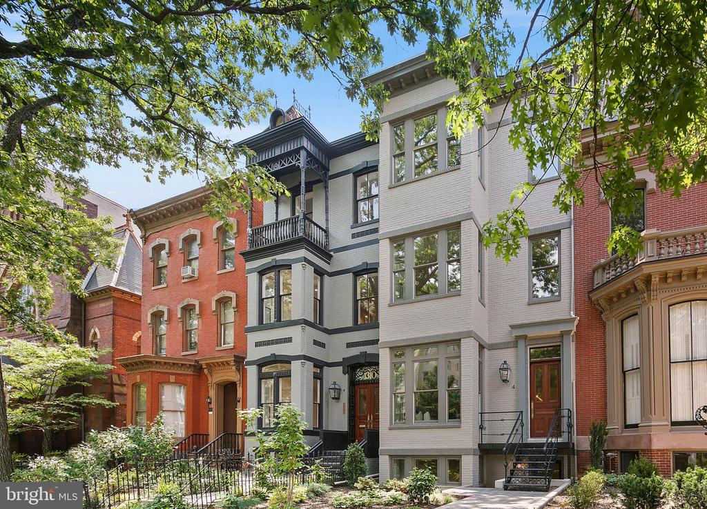 This summer, the wait is finally over for phase two of The Gaslight District, DCs most storied new development nestled in the coveted Logan Circle neighborhood. Discover the convergence of history and modern luxury like never before in these nine exclusive residences that date back to 1874, with nine units set inside a Victorian row home and two additional carriage houses crafted from the propertys original stables. Each of the residences have been reimagined as an impressive collection of homes defined by timeless design, expert craftsmanship, and incomparable period details. This exceptional offering features bespoke finishes at every turn, from herringbone hardwood floors, to handcrafted millwork, soaring ceilings, grand living rooms, designer kitchens, and one of a kind architectural interiors that frame the prestigious views of stately Vermont Avenue.  Experience the vibrancy and convenience of effortless downtown living right from your doorstep. Just moments from a multitude of parks and green spaces, as well as the most sought after shopping, fine dining, and social establishments around, these premier Logan Circle residences are without a doubt the cant miss opportunity of the summer season. Parking is available, please inquire with the listing agent.