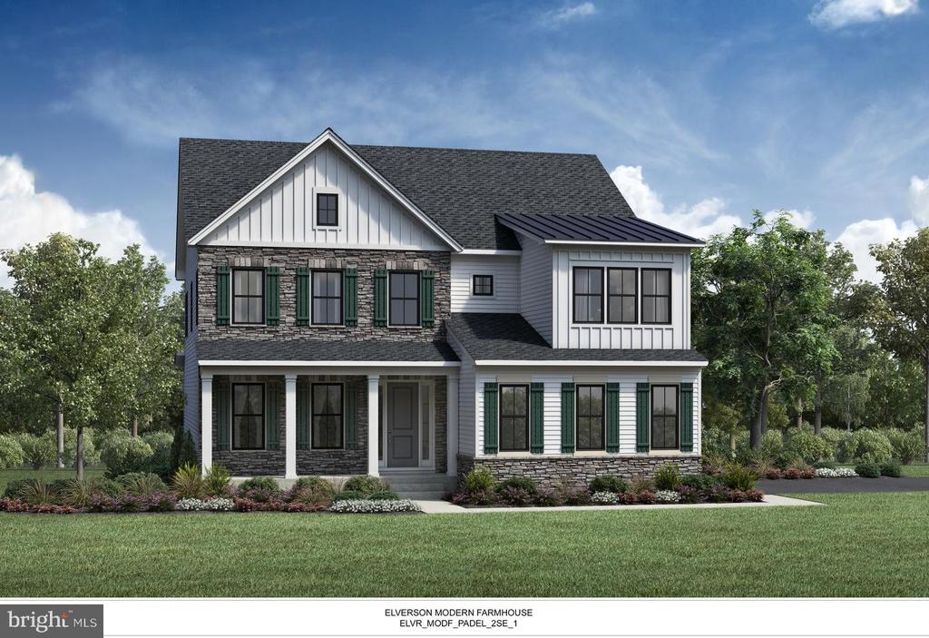 This is a representative listing for the Elverson Home Design - Visit our new Model today!.  Please visit the Sales Center at 1003 Iron Works Road every day from 10-5 for more information.  The  open concept offers an inviting foyer with 10 foot ceilings throughout the first floor and 8 foot doors. It open open to the formal dining room, with views to the spacious great room beyond. The well-equipped gourmet kitchen overlooks the great room, and features a large center island, roomy walk-in pantry, ample counter and cabinet space, an adjacent breakfast area, and direct formal dining room access. The impressive primary bedroom features dual walk-in closets and deluxe master bath dual vanities, large lux shower with seat, separate drying and dressing areas, and private water closet. Secondary bedrooms each feature walk-in closets, two with shared Jack-and-Jill bath with dual-sink vanity, and one with private full bath. Additional highlights include a desirable generous flex space adjacent to the great room, centrally located second floor laundry, and convenient first floor powder room and mud room.   Listing represents available floor plan that can be built. Photos are used for representative purposes only. Taxes to be determined. Please see Sales Manager for details.