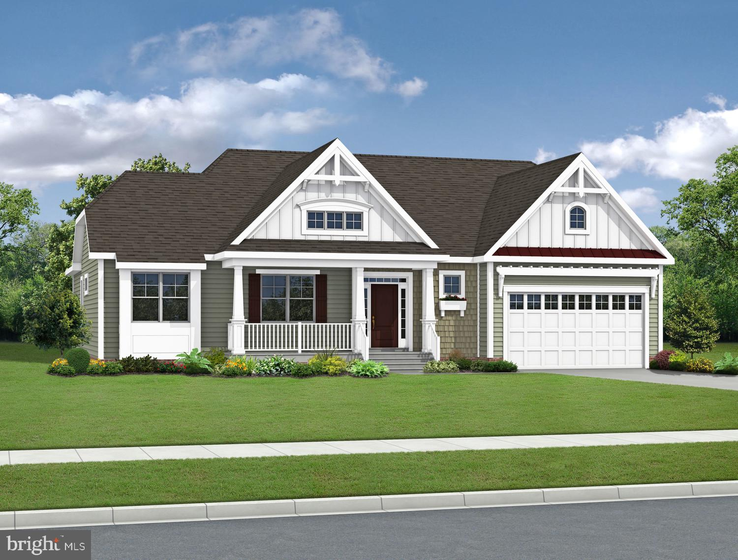 Walden is a new community in the Lewes area tucked away from the coastal hustle and bustle. Enjoy water access for kayaking/fishing on Burton~s pond and the variety of community amenities including clubhouse with fitness center, rec room and bar, outdoor pools, courtyard with tiki bar and BBQ area, 2 pickleball courts, multi-use court (tennis/basketball), playground and walking paths. The Mayberry plan is a ranch home starting at 2,266 heated square feet. Includes 3 bedrooms, 2 baths and a flex space perfect for a home office. This home has a split-bedroom design where the owner~s suite and guest bedrooms are on opposite sides offering privacy and an open floorplan. The kitchen includes a walk-in pantry and is open to the great room and dining area. Options available to personalize including additional bedrooms, baths, and outdoor spaces. Sales office open off-site by appointment only, contact Joe at 302-228-4488 to schedule visit and learn about current incentives. *Base price includes $20,000 incentive value *Photos re of a model home with upgrades. Unlicensed onsite sales professional represents the Seller only. Sales office open off-site by appointment only.