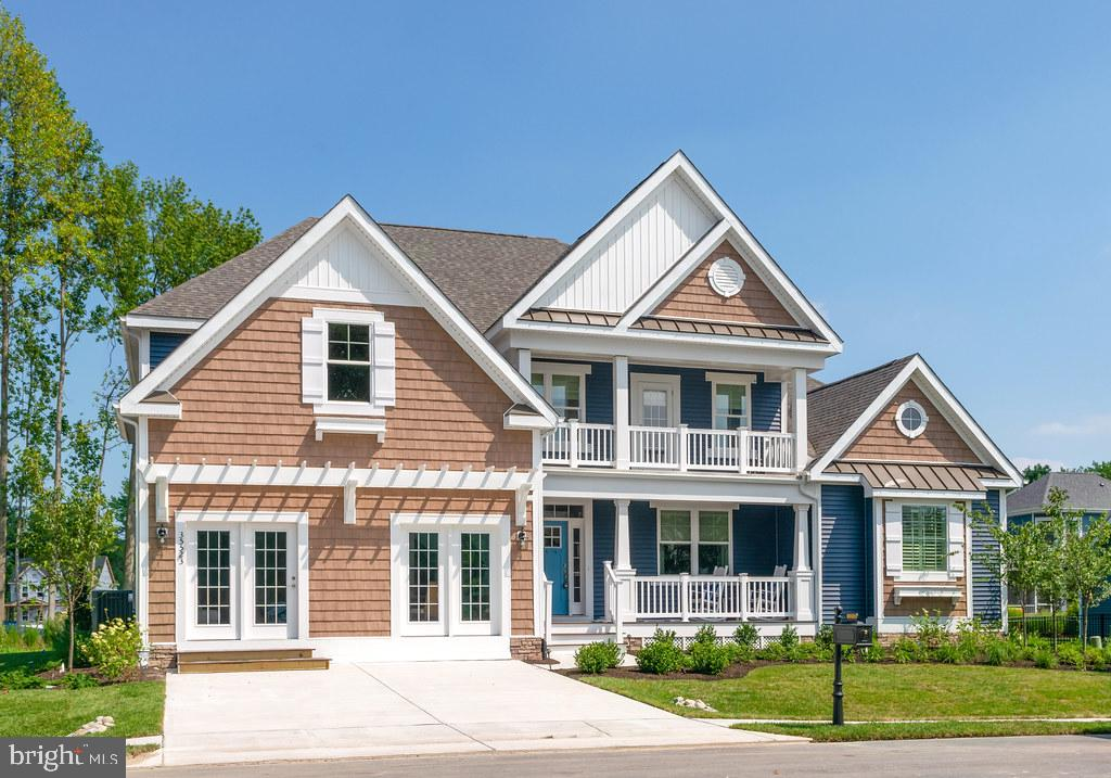 Walden is a new community in the Lewes area tucked away from the coastal hustle and bustle. Enjoy water access for kayaking/fishing on Burton's pond and the variety of community amenities including clubhouse with fitness center, rec room and bar, outdoor pools, courtyard with tiki bar and BBQ area, 2 pickleball courts, multi-use court (tennis/basketball), playground and walking paths. The Chesapeake plan is a two-story home with a first-floor owners suite starting at 3,383 heated square feet. Includes 4 bedrooms, 3 baths, a flex room and loft. The first-floor open design includes a spacious kitchen open to the dining area and two-story great room. Two bedrooms and flex room (great for a home office) are on the first floor. Upstairs you will find a loft, two bedrooms, a full bath and unfinished bonus room with options to finish. Options are available to personalize layout with additional bedrooms/baths, and outdoor living spaces including a screened porch and beautiful courtyard.  *Base price includes $20,000 incentive value *Photos re of a model home with upgrades. Unlicensed onsite sales professional represents the Seller only. Sales office open off-site by appointment only.