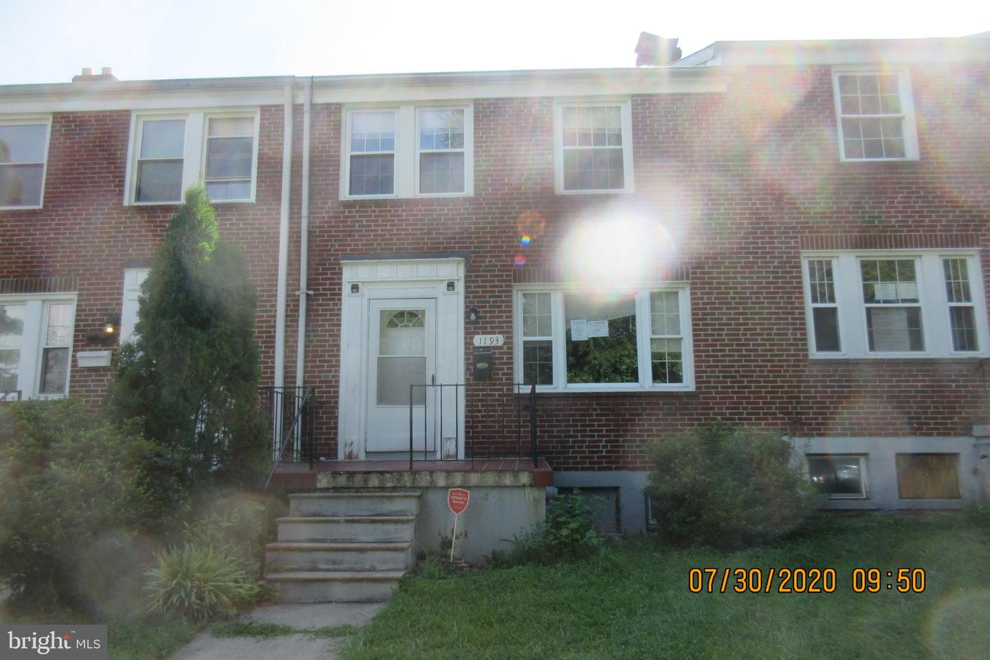 1193 Granville Road   - Baltimore, Maryland 21207