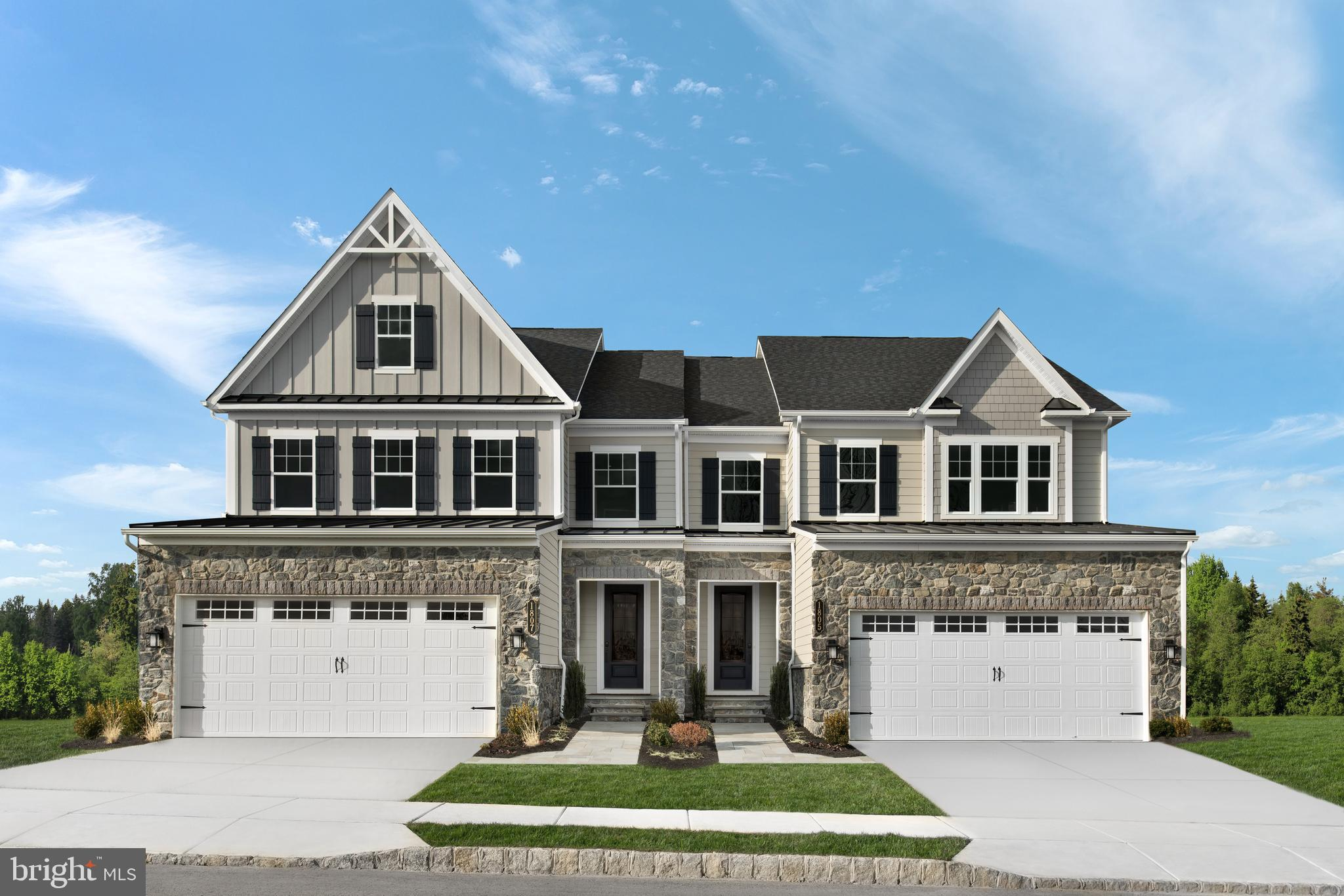 Welcome to the Haverford at Greystone by NVHomes , a community that more than 90 people have already decided to call home! Luxury twin Homes in a spectacular estate setting near Rt. 100, 202, the 322 bypass, and West Chester Borough. The Haverford townhome offers luxury on every level. Just off the 2-car garage and family entry, versatile flex space can be used as an office, study or a 1st-floor bedroom with full bath. The gourmet kitchen and dining area with large island overlooks a great room, perfect for entertaining. Upstairs, sensational loft space leads to 2 bedrooms and a full bath, as well as your luxurious owner s suite. In here, dual walk-in closets and double vanity bath and seated shower provide incomparable comfort. Finish the expansive basement for more living space or a guest suite. The Haverford at Greystone has it all. Call to schedule your appointment today.  Other floorplans and homesites are available. Photos are representative. NVHomes is taking precautionary measures  to protect our valued customers and employees. Our models are open by by appointment.