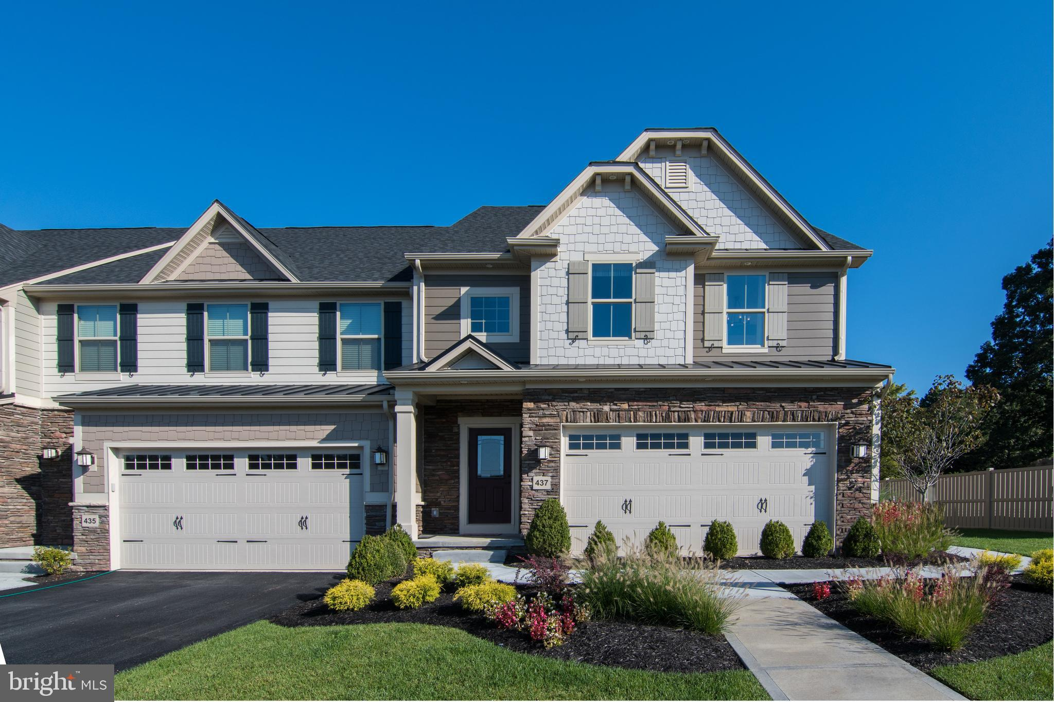Welcome to the Franklin Hall at Greystone by NVHomes , a community that more than 90 people have already decided to call home!! Luxury Twin Homes featuring 1st floor owners suites in a spectacular estate setting near Rt. 100, 202, the 322 bypass, and West Chester Borough. From the moment you step into the Franklin Hall you will fall in love with the elegant yet functional style, with every amenity located on the first floor for the ultimate in convenience. The expansive Foyer frames your view into the formal Dining Room and Great Room. The gourmet kitchen is a cooks delight with a breakfast bar that gives plenty of access to the dining area while the Great Room is light and airy, perfect for entertaining. The Owner's Suite features a gigantic walk-in closet and owners bath with dual vanity and shower. Upstairs, there are two additional bedrooms -- each with walk-in closets -- a Loft, full bath, and plenty of storage space. The space doesnt end there. Youll find a finished lower level featuring over 900 sq. ft. with a Recreation Room and Bathroom. The Luxury living extends beyond the inside of your home. Living at Greystone gives you the curb appeal you have always wanted from hardieplank siding with natural stone accents to bluestone porches and much more!  Other floorplans and homesites are available. Photos are representative. NVHomes is taking precautionary measures  to protect our valued customers and employees. Our models are open by by appointment.