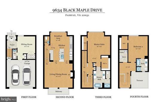 9634 Black Maple Dr Fairfax VA 22031