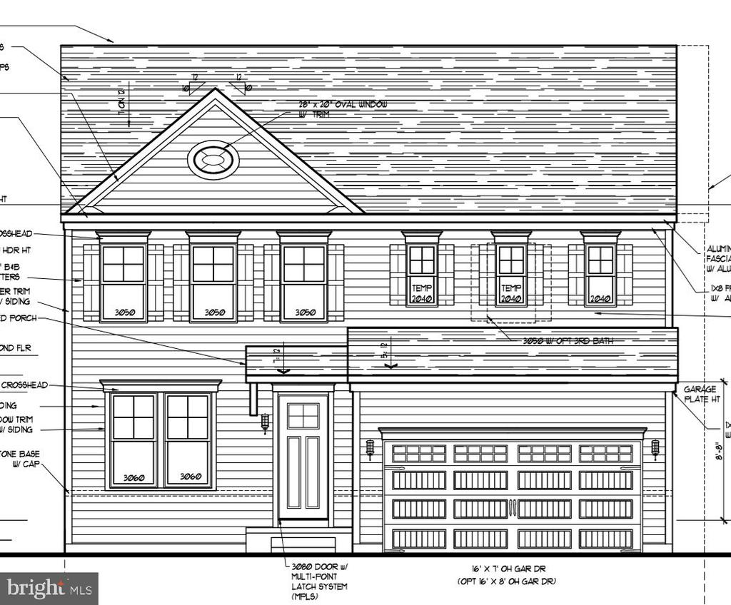 NOW SELLING FOR  2021 MOVE-IN!!!Brand New Community in Essex, Hyde Park Overlook.  Offering one-car garage, luxury towns  and 4 TO BUILT SINGLE FAMILY HOMES that are as beautiful on the outside as they are inside.  The Elizabeth is a 2223 sq. ft, 2 car garage single family  home with space in all the right places.  Four bedrooms and two and a half baths come included in this amazing floor plan.  The main living area is open and well lit. The included kitchen island is large and the walk-in pantry is enormous.  The over sized great room and separate dining area are icing on the cake.  The bedroom level includes 4 spacious bedrooms, a private bath for the owner's suite and a second full bath for family and friends.   The lower level can be finished to provide even more living space and still allow plenty of storage.   First availability for move in will be Spring 2021.