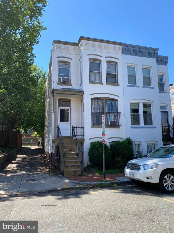 PRICE REDUCE.  Great location in popular  LEDROIT PARK /SHAW area. Walking distance to popular neighborhood restaurants and bars with quick access downtown DC. Sold strictly  As-Is . Fantastic rehab opportunity and price to sale. Vision and imagination helpful. Nearby homes selling well.