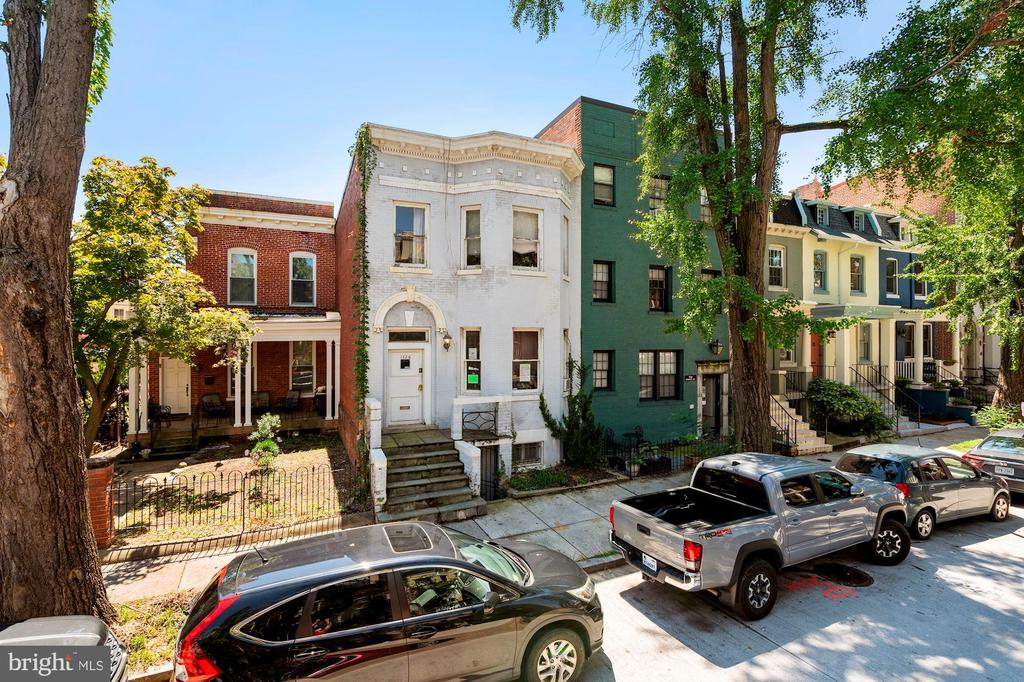 *Sellers are only interested in offers at or very near their asking price. Townhouse in need of full renovation. Plans, permit, & additional information available. See documents. Large lot with 2-car parking. Plans call for expansion with enough room for outdoor space & parking. Prime Dupont Circle location on perfectly located, tree-lined block. Estimated renovation 200-300K. Post-renovation value of $2M+.