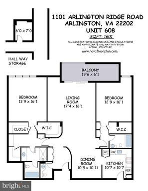 1101 Arlington Ridge Rd S #608