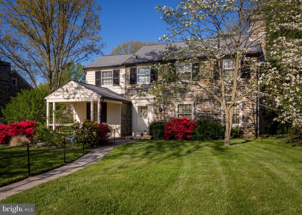 "This classic stone home in Bala Cynwyd features lovely curb appeal and classic charm with wood floors throughout, deep-silled windows, and a fireside living room. Recent improvements include a freshly painted exterior (2019), newer HVAC system (2015), and a newer roof (approx. 2010). Customize this warm and inviting home to fit your needs. The main floor features a large living room with a wood burning fireplace, a formal dining room, tidy kitchen, and a den that could be used as a home office. On the second floor you will find three nice-sized bedrooms and two full bathrooms. Outdoor spaces include a cozy front porch with views of the quiet tree-lined street and lovely landscaping, and a large rear yard ideal for recreation. The attached one-car garage and unfinished basement offer plenty of storage space.  Within walking distance to award-winning Lower Merion schools. Enjoy nearby parks, playgrounds, Cynwyd Heritage Trail, Bala Cynwyd library, and shops and restaurants on Montgomery Avenue. Also easy access to Manayunk, the Borough of Narberth, and regional rail train stations. Take advantage of this amazing value! **Please Note: This Lovingly Maintained Home is being sold in ""As - Is"" Condition and Seller encourages Buyer to conduct their inspections prior to submitting an offer.**"