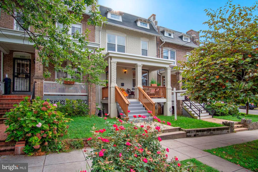 ** ALL OPEN HOUSES CANCELLED - Sellers have a ratified contract on the property after 1 day on the market** Thanks for your interest!  Don't miss out on this tastefully renovated and professionally designed row home (total SQFT: 2,172) with SOLAR PANELS on one of the best blocks in the sought-after Petworth neighborhood. This spectacular and freshly painted 3 BR/3.5 BA home features a sun-filled open concept living space, 2 levels of recently refinished wide-plank wood floors, crown moldings, gourmet kitchen with brand-new SS appliances and subway tile backsplash, stunning granite counter tops and island, custom cabinetry, powder room, new carpet in the basement level, exposed brick walls, and stylish touches throughout. There are 3 upstairs bedrooms with rectangular skylights, and two full bathrooms. The generous owner's suite features recessed lighting, 20-foot-tall ceilings, and a main bathroom with a double vanity and new light fixtures. The fully finished lower level includes a private entrance, washer and dryer, and a full bathroom presenting a very flexible space to entertain, work and/or exercise or the perfect place as an in-law suite. Includes off-street parking for one large vehicle, and a large fenced-in backyard with a deck, grass area, flower garden and custom-designed hardscape patio that's perfect for entertaining too. Located in the vibrant South section of Petworth, you're just a short walk from some of DC's favorite hotspots such as Lincoln's Cottage, The Hitching Post, Slash Run, Timber Pizza, Taqueria del Barrio, Dos Mamis, Cinder BBQ and others. Plus, supermarkets like Safeway and Yes! Organic, public transportation, Bike Share, parks, and the Petworth rec center. This home is just 0.6 miles to the Petworth Metro.