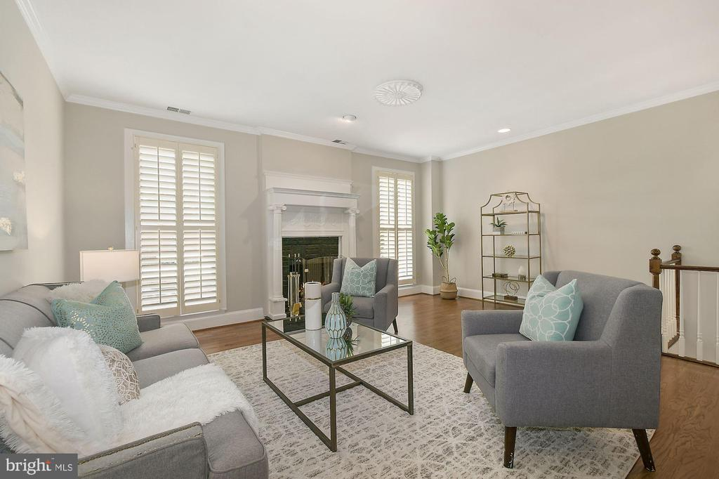 100K Price Adjustment - Bring Offer --- Expansive and stately row house in the Shaw neighborhood of Washington DC. Just a couple blocks from K St business district, the hidden coffee shops and restaurants of Blagden Alley and City Center. 10th Street of Shaw is known for its quiet neighborhood feel wonderful mix of boutique condo buildings and large row houses. The residence of 1322 10th is situated between O St and N St with morning light flooding the front facade and large windows and evening sun on back patio. The main home features a dining / living areas in addition to family room with a wood burning fireplace. The kitchen features bosch appliances and gorgeous granite countertops.  The second level features three bedrooms including owner's suite with en-suite bath.  The lower level (1st floor)of the house boasts a separately metered apartment with separate front and rear entrances, full kitchen, nice size living area, one bedroom, full bath and laundry. Parking for 1 car as currently configured with room for additional parking should the new owner choose. Opportunity & Location: Tenant pays $2300/mth rent that can pay a good portion of a new mortgage.  The house has expansion opportunity to build equity; add a deck off the LR, open up the kitchen for an open floor plan,  incorporate the apt into the main house or extend the house to occupy 60% of the property.