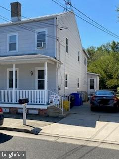 Reduced Price! Motivated Sellers! Bring your offer and make this house YOUR home! Welcome to 232 Delaware Street in the heart of Fieldsboro Boro. Minutes away from Historic Downtown Bordentown shoppes and restaurants. This location is a Commuters Dream! Fantastic opportunity to own this 3 bedrooms 1.5 baths, twin/semi-detached home in Fieldsboro Boro with driveway parking. Enter into a spacious living room which leads to the dining room and into the bright eat in kitchen. Laundry and full bath on 1st floor.  As you make you way to the 2nd floor you will find 3 nice sized bedrooms, with generous closet space in all. Master has a 1.5 bath attached, All new blinds throughout the home, Shed in the backyard has electricity. Enjoy a cup of coffee on the front porch and  BBQ in the backyard. Full unfinished basement with plenty of storage space. It's waiting for you to add your personal touch. Easily accessible to major highways, Rt 206, Rt 130, New Jersey Turnpike, Joint Base McGuire-Dix-Lakehurst, Access to Route 295 less than a minute away so you can get to your destination and home again quickly. River Line Train station is located in Bordentown if public transportation is more convenient. Call today for a private tour!1 Year HOME WARRANTY transfer to new owners!  The sale of the house excludes attached Lot 11.02 Block 33.