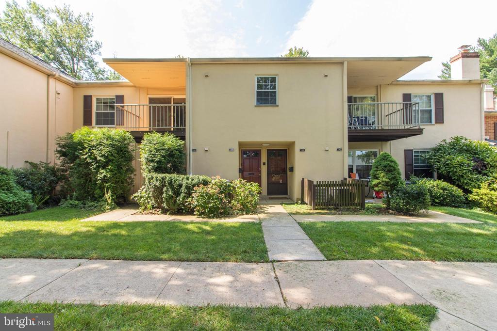 Be sure to add this charming condominium in Old Forge Crossing to your must-see list. Second-floor one bedroom, one bath, facing the courtyard. Features include an upgraded kitchen, bath, replaced the tub and added a stall shower, windows, and heater, freshly painted, newer carpeting, A/C replaced in 2019, and now ready to move in and enjoy today. Spacious living room with a fireplace leading to a private balcony overlooking the wooded courtyard, with access to the heater room which provides plenty of storage. A separate dining area, full kitchen with a five-burner gas range, extra counter space, and cabinets. Separate laundry with storage space and full-size front load washer and dryer. This award-winning and well-run condominium community has plenty to offer; enjoy time at the community pool or a game of tennis in one of the two courts. This development is situated on forty beautifully landscaped acres featuring a reflection pond and walking paths. Like to bike or enjoy long walks? OFC now provides private access to the new Chester Valley Trail. Short commute to theDevon train station (R5) and bus routes to the city, 202 the turnpike as well as major corporate centers and shopping especially Trader Joes, Whole Foods, Wegmans and the King of Prussia Mall and Court. The condo fee includes pool, tennis, outside maintenance, roof, trash, snow removal, gas for cooking, hotwater, and dryer. Want a pet? Cats allowed (2)