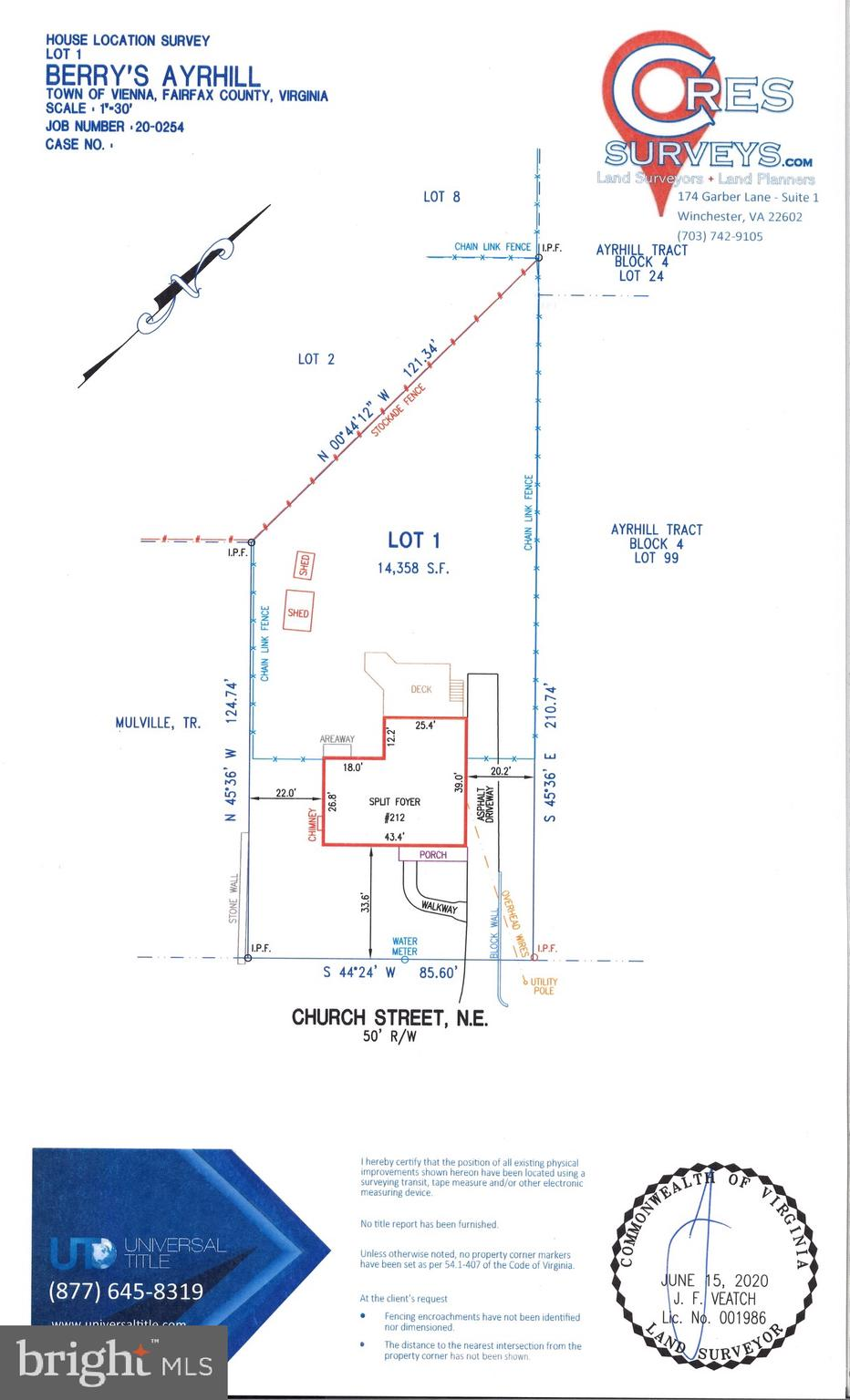 This is your opportunity to build on one of the best streets in the Town of Vienna. With 14,358sf this lot has plenty of space to create the home of your dreams. The nice lot width and depth will allow you to get creative with your design. Just one block off Maple, right up the street from Park and right around the corner from Glyndon Park,  you'll be close to everything that downtown Vienna has to offer. Don't let this one pass you by!