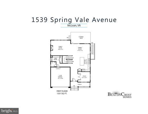 1539 Spring Vale Ave Mclean VA 22101
