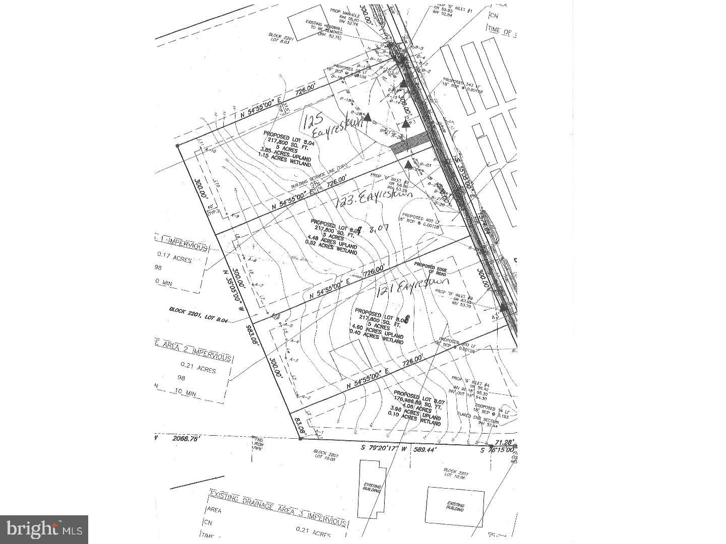 5 Acre Commercial building lot or owner will build to suite.