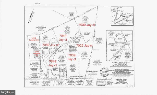 There are in total eight lots. six of them have the architectural plans . All will be delivered with the building permits . 6 lots are  on over 5+acres . One 2.4 and other 0.7 acres . 525k  for 5 acre lots ,  $450k and $425 k smaller lots delivered  with Building Permits . Lots can be sold separate or as a whole.