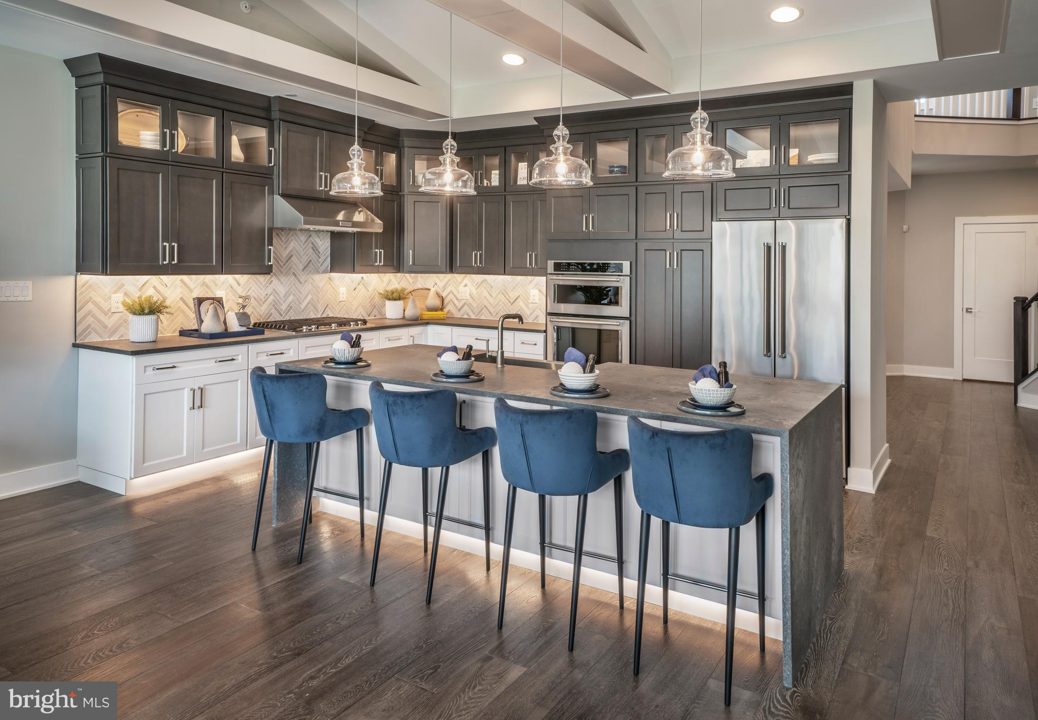 The gourmet kitchen of the fabulous Vassar is centrally located, making it the hub for family gatherings. The first-floor master bedroom boasts a cathedral ceiling, ample closet space, and a lovely master bath with a dual-sink vanity, an over-sized shower with a seat, and a private toilet area. The spacious second-floor bonus room offers versatile living space. Other highlights include a welcoming two-story foyer, a spacious great room with plenty of windows for natural light, a formal dining room, and large secondary bedrooms--one with a cathedral ceiling and a walk-in closet. Taxes to be determined. Photos are images only and should not be relied upon to confirm applicable features.