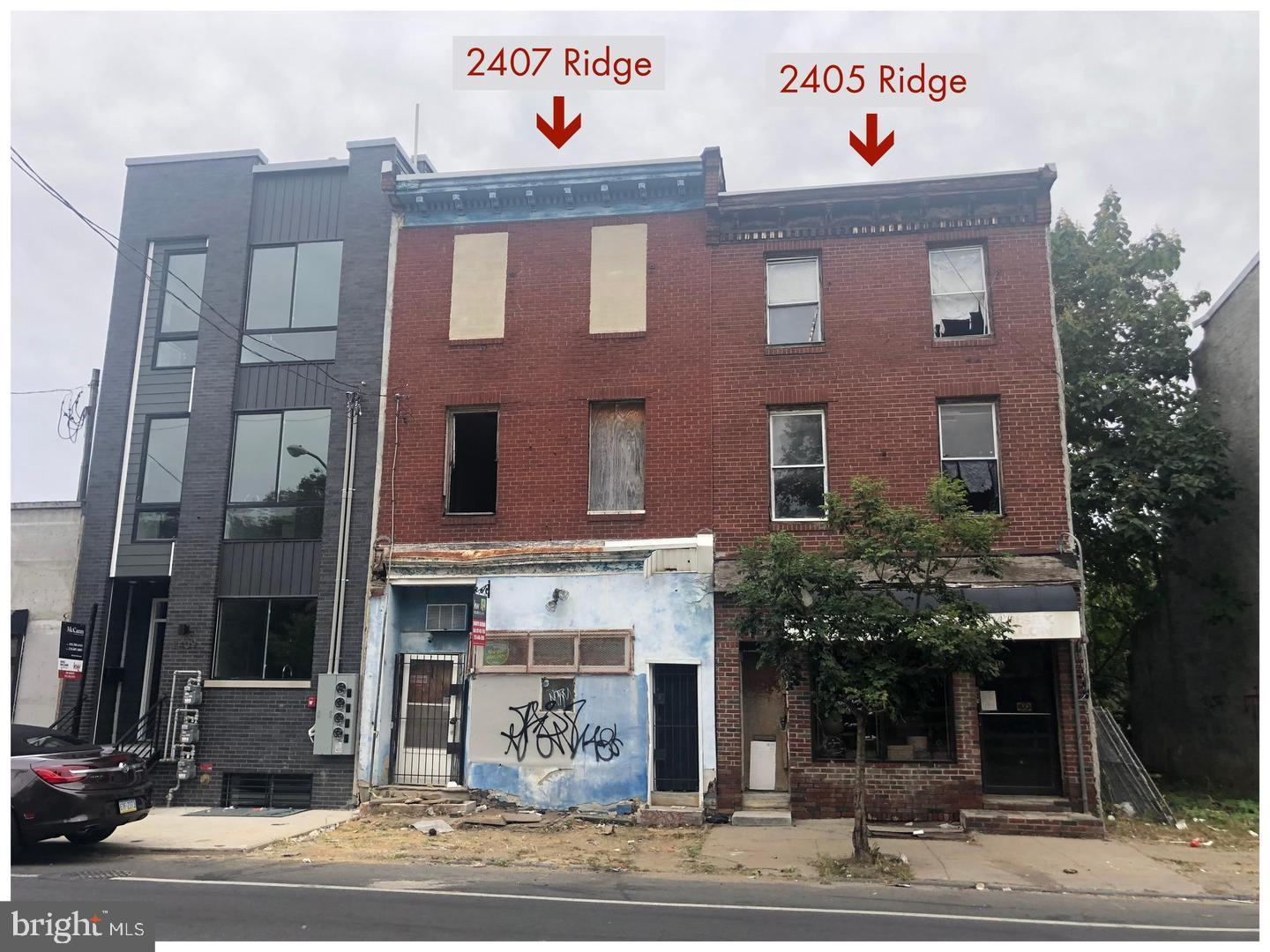 2407 Ridge Avenue Philadelphia, PA 19121