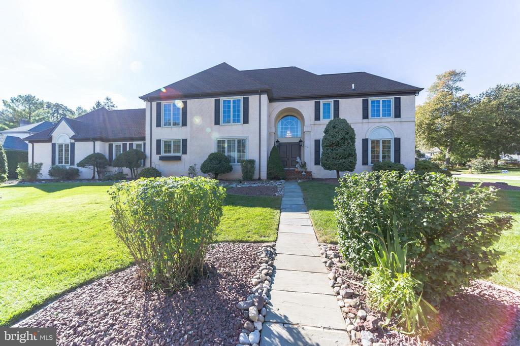 Showings begin on 3/6/21 at our OPEN HOUSE from 12-2. Please join us  Please check out our virtual tour today: https://mls.homejab.com/property/view/229-trianon-ln-villanova-pa-19085-usa  Welcome to Trianon, in Villanova, PA - The former model home offering 5 Br.., 4.5 Ba. & 4,344sqft.  This Sprawling Traditional style home has a 2 car side entry garage with inside access. Home offers a large expansive formal living room with wood-burning fireplace & attached office area, large family room w/wood burning fireplace and built-in entertainment center/library, large dining room with seating up to 10, and Large kitchen area w/Corian center island and newer appliances. 2nd floor offers 4 large bedrooms, a large main bedroom offers 2  WICs, a full main 5 piece bath area, 2 additional bedrooms that share a hall full bath,  and a Princess Bedroom suite with a newly tiled bath area. The rear private porch/deck offers privacy. The Full Basement is waiting for your finishing touches. Recent upgrades include; Newer Roof (2016), Newer Windows (2012-2020), Newer Gutters & Downspouts (2016), New Princess Suite Bath (2020), New Hardwood Floors on Steps (2020), Refinished Hardwood Floors in most rooms (2015). Home is in proximity to all major arteries, King of Prussia, Villanova University, and everything the Main Line offers. A one-year home warranty will be offered at settlement.